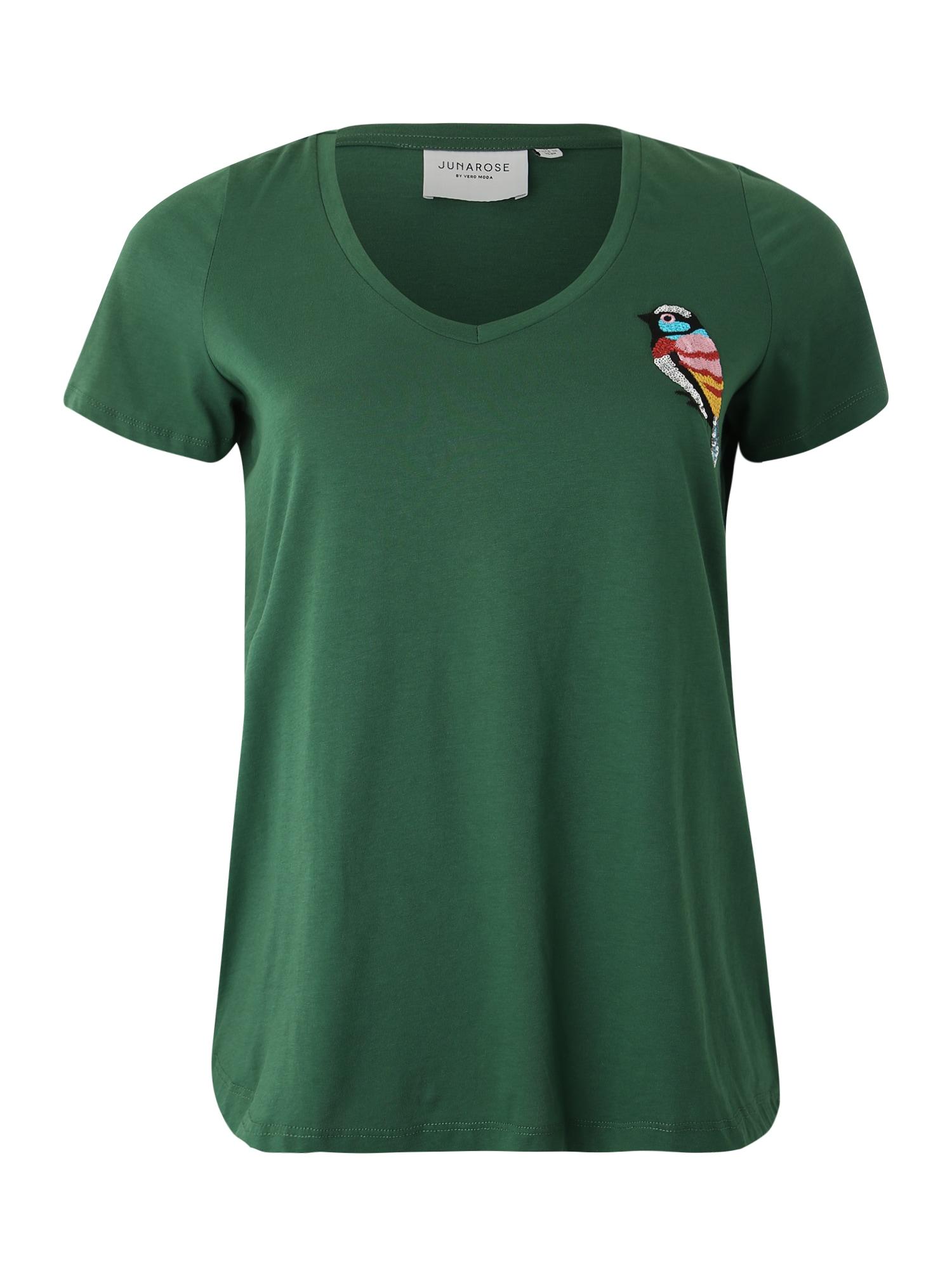 Junarose Marškinėliai 'JRBIRDY ROXY 2/4 TOP - S' žalia