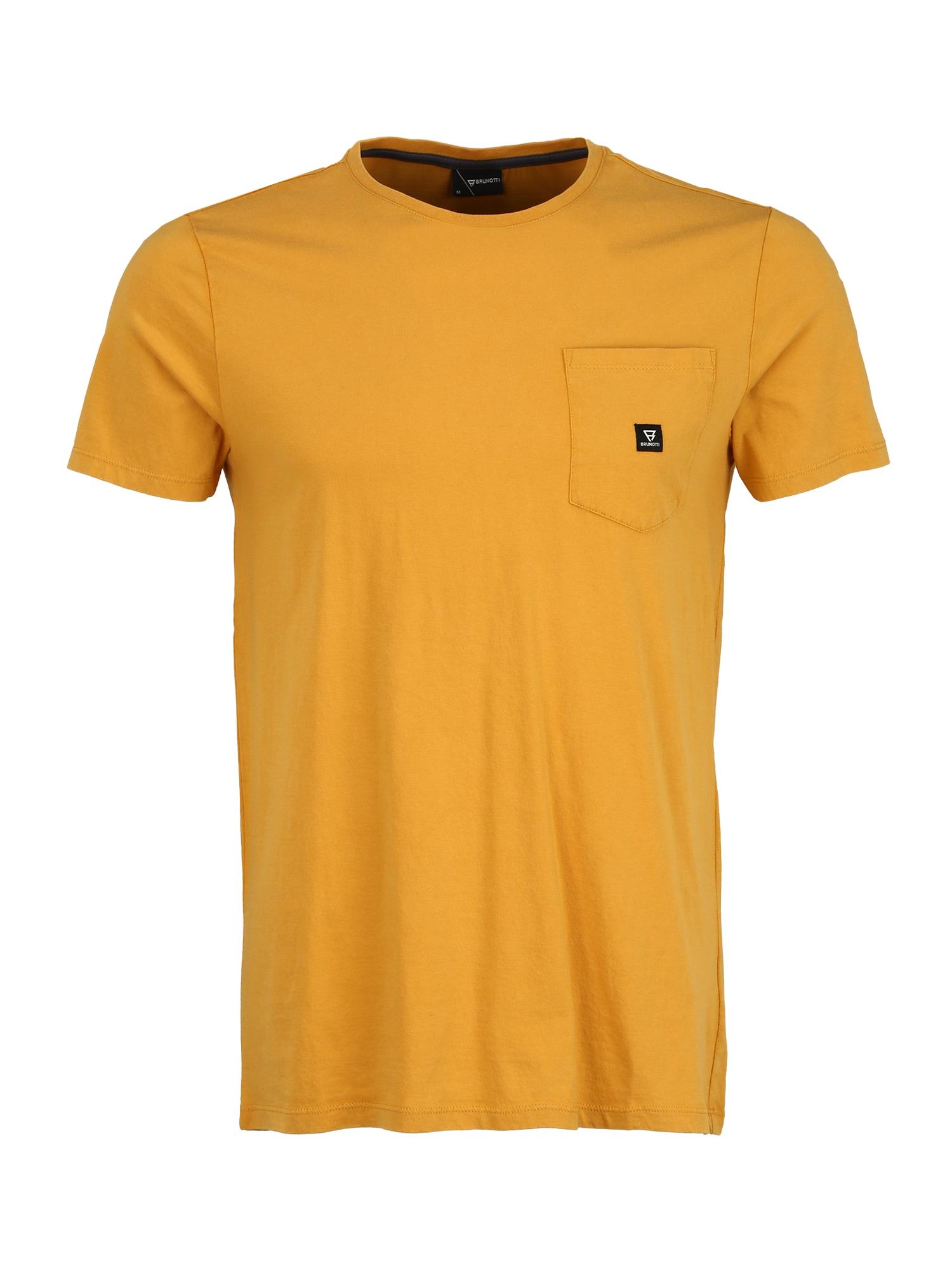 BRUNOTTI Sportiniai marškinėliai 'Axle' geltona