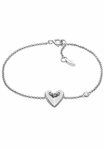 Armbaender für Frauen - FOSSIL Armkette 'Herz, STERLING, JFS00424040' silber  - Onlineshop ABOUT YOU