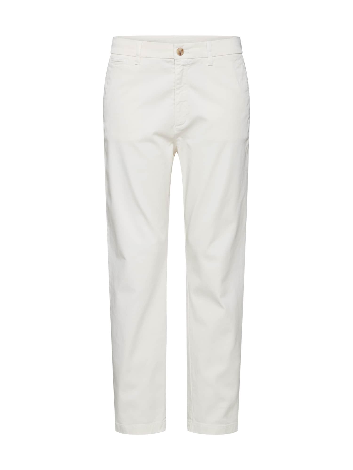BOSS Chino stiliaus kelnės 'Solga-D' balta