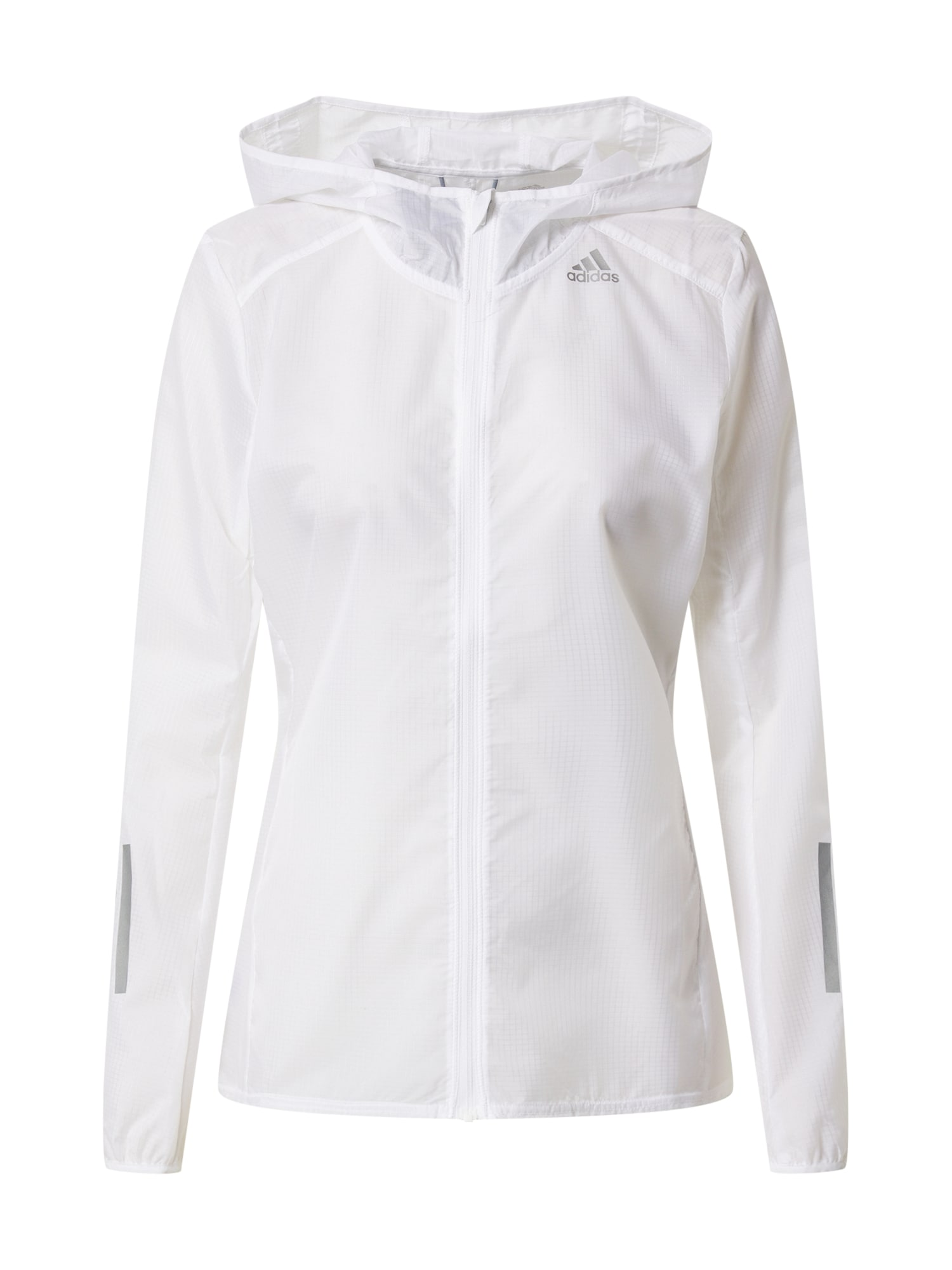 ADIDAS PERFORMANCE Sportovní bunda  bílá