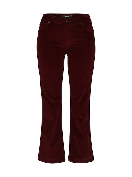 Hosen - Hose 'CROPPED BOOT' › 7 For All Mankind › bordeaux  - Onlineshop ABOUT YOU