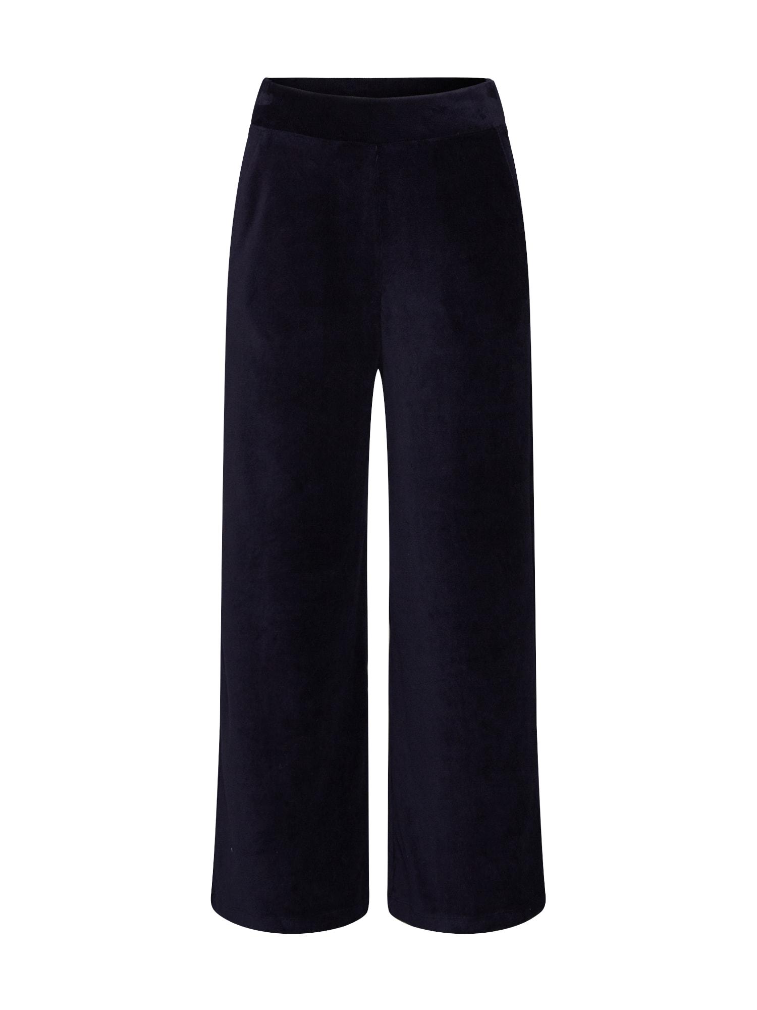 ESPRIT Pižaminės kelnės tamsiai mėlyna