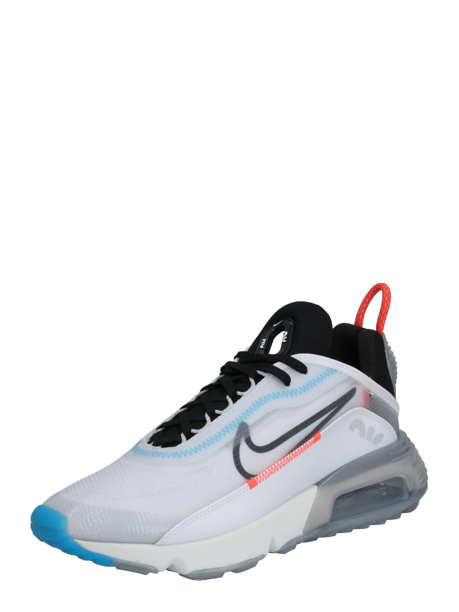 Nike Sportswear Sportbačiai be auliuko 'AIR MAX 2090' juoda / balta
