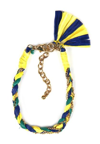 Armbaender - Armband › J. Jayz › dunkelblau gelb gold petrol  - Onlineshop ABOUT YOU