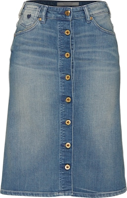 SCOTCH & SODA Jeans-Rock in Mini-länge 'Lady Luck'