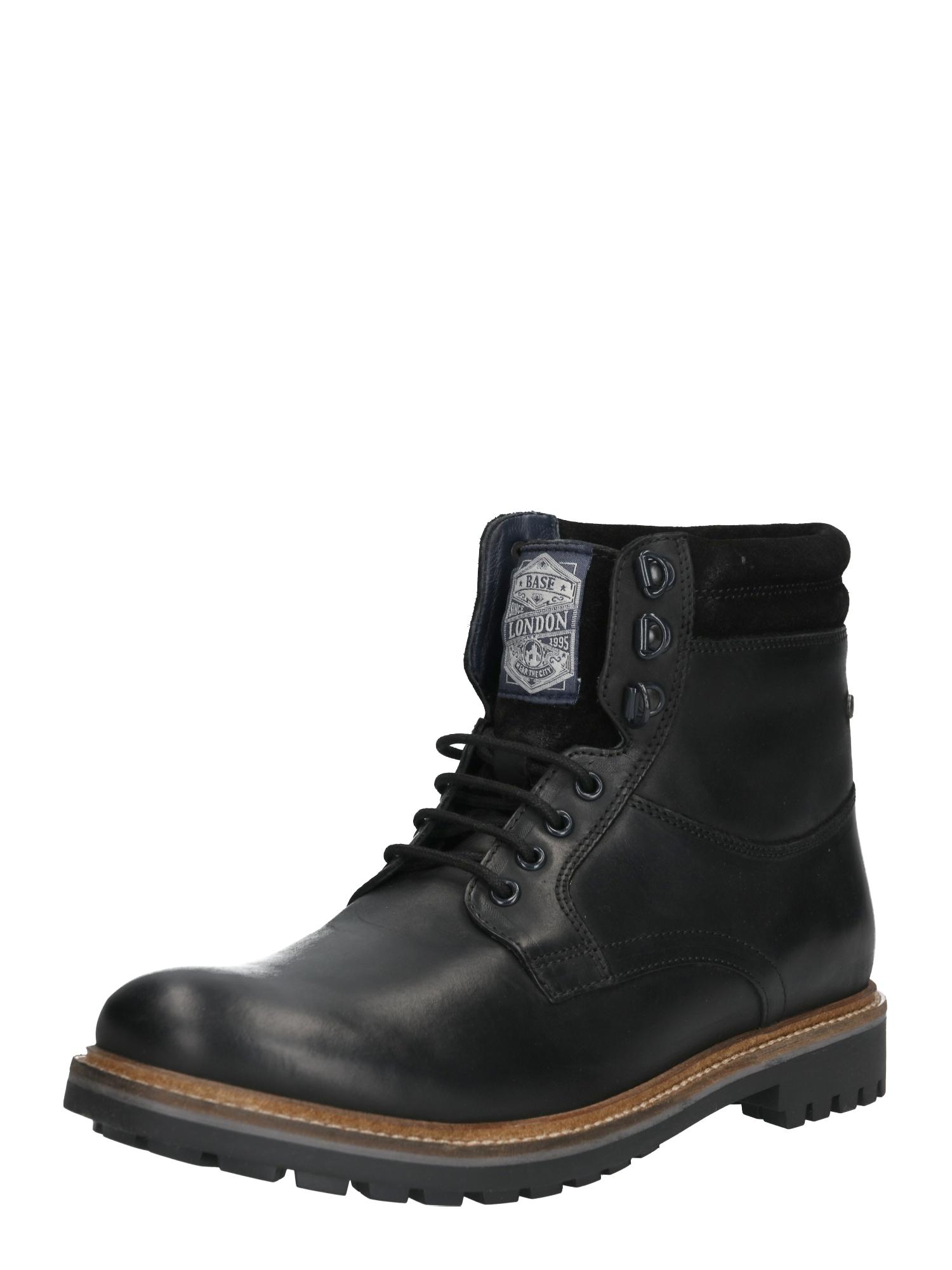 base London Suvarstomieji batai 'HIDE' juoda