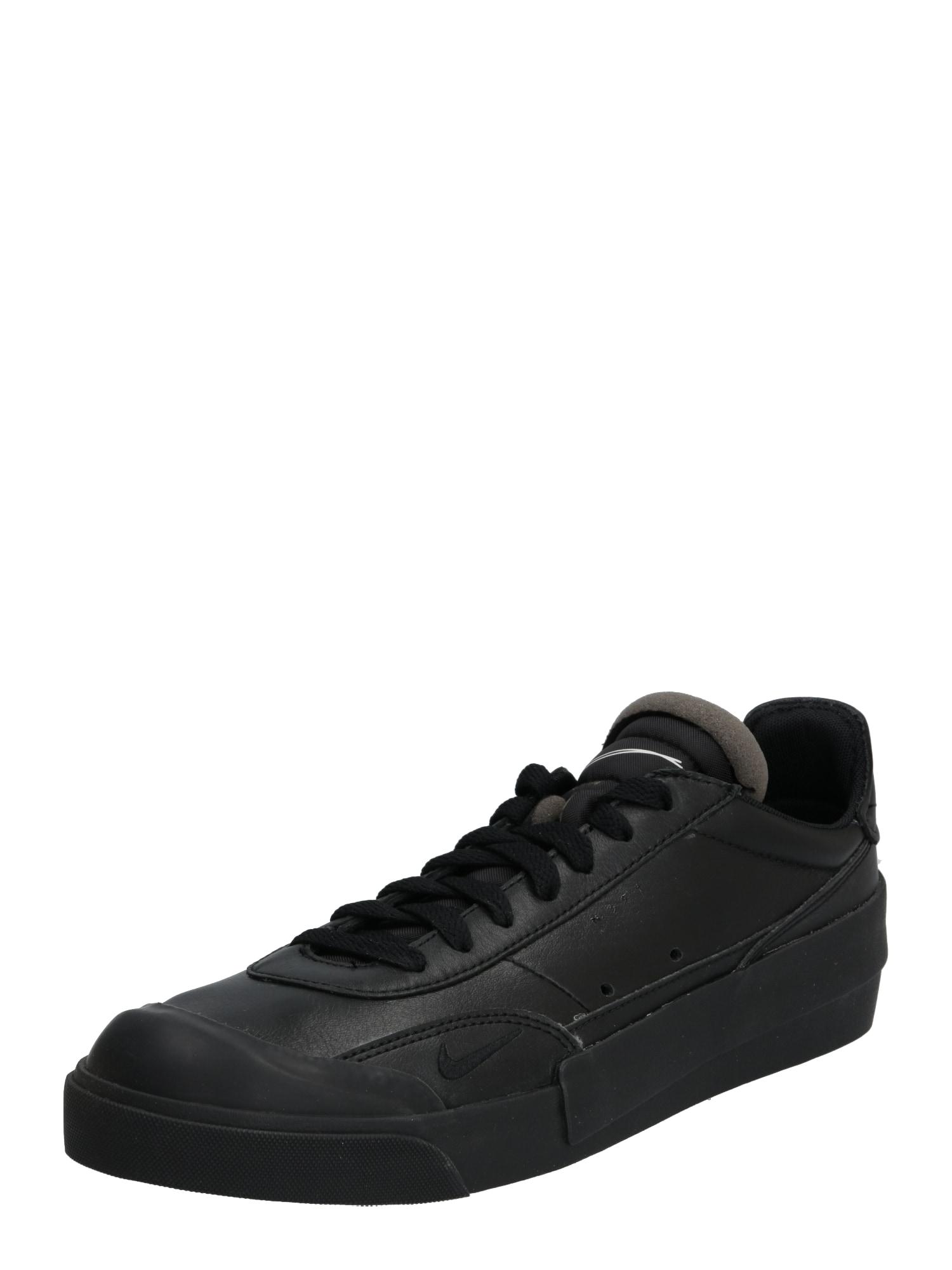 NIKE Sportiniai batai 'Nike Drop Type' juoda