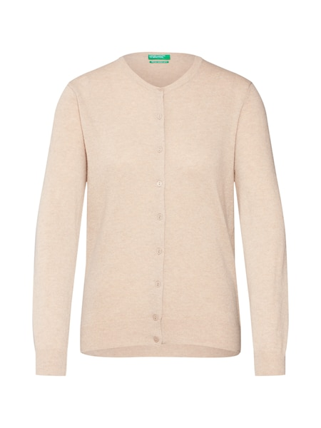 Jacken - Strickjacke › United Colors of Benetton › beige  - Onlineshop ABOUT YOU