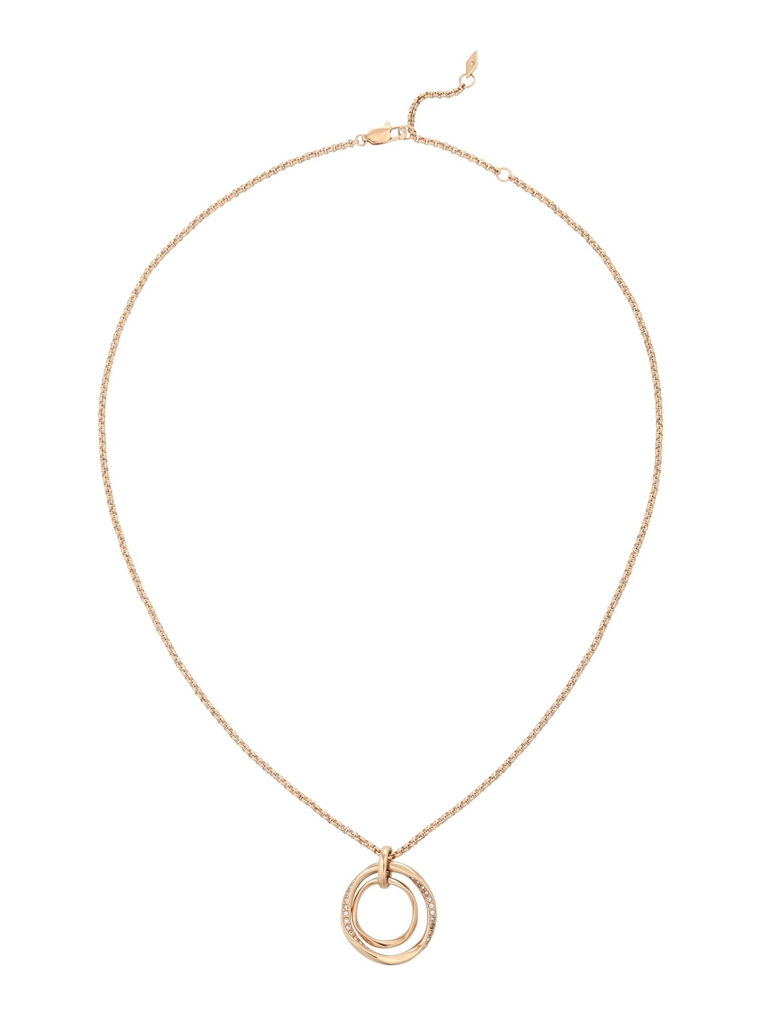 FOSSIL Lanțuri  auriu / roze