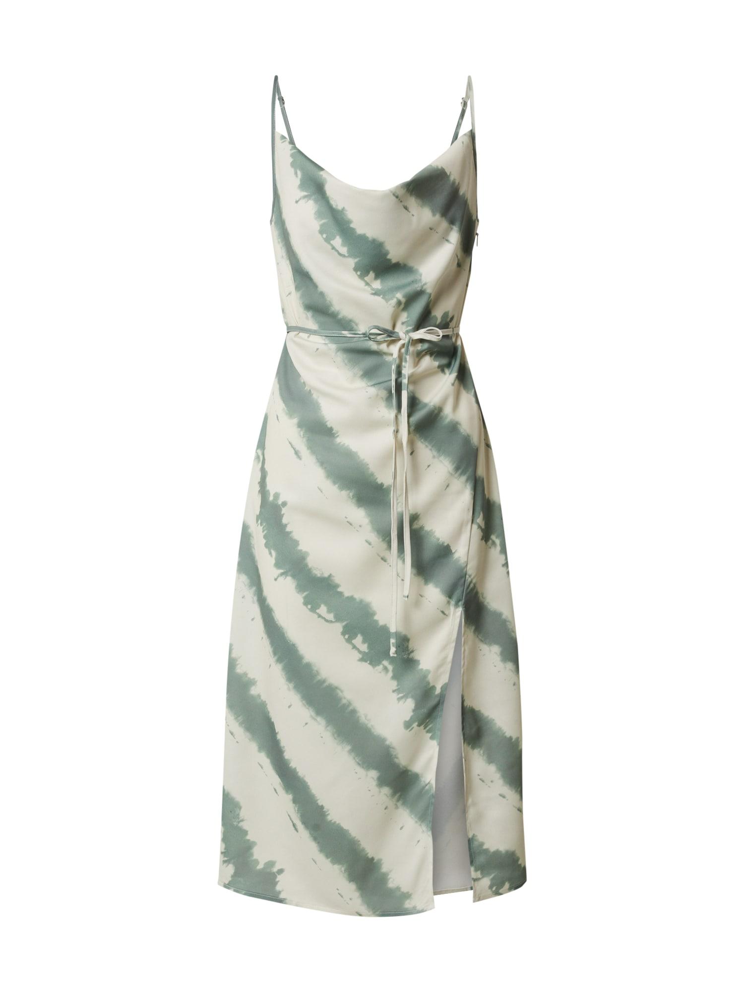 4th & Reckless Vasarinė suknelė 'LAURIE' mėtų spalva / smėlio