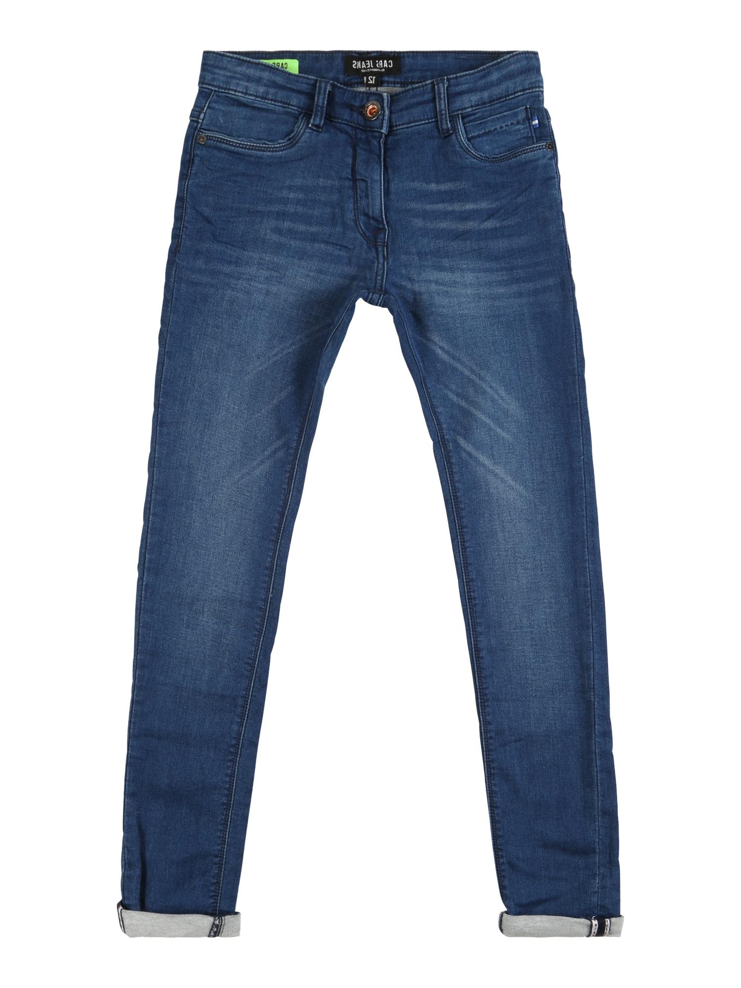 Džíny KIDS BURGO JOG DEN. modrá džínovina Cars Jeans