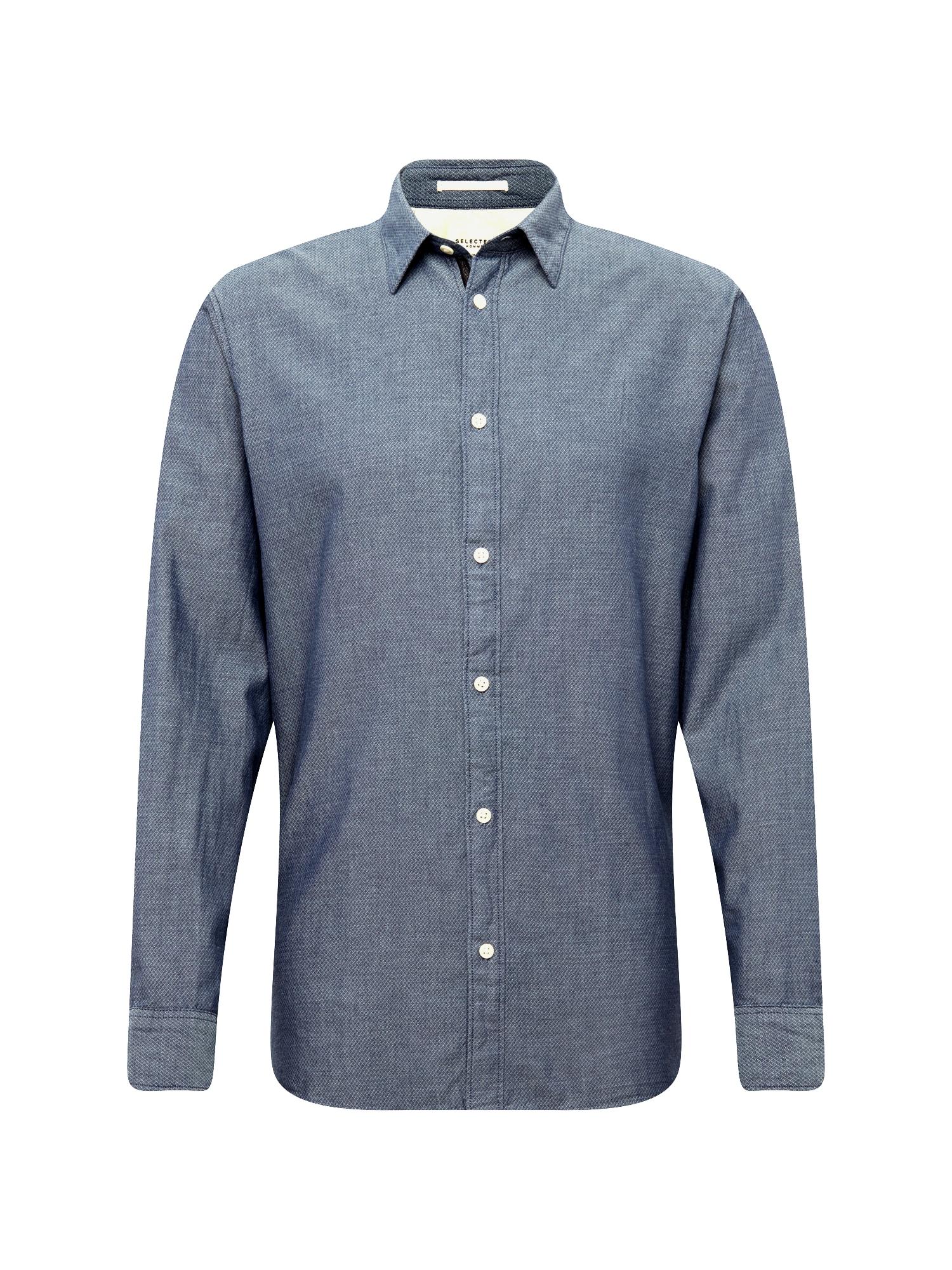 Košile JORDAN tmavě modrá SELECTED HOMME