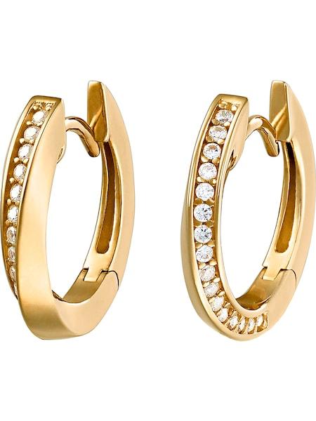 Ohrringe für Frauen - JETTE Creole gold  - Onlineshop ABOUT YOU
