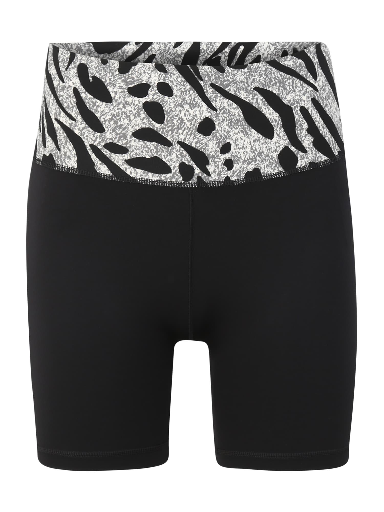 ADIDAS PERFORMANCE Sportinės kelnės 'AIQ2' šviesiai pilka / juoda