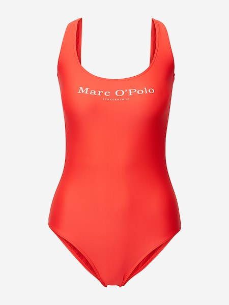 Bademode - Badeanzug ' Solids ' › Marc O'Polo › rot  - Onlineshop ABOUT YOU