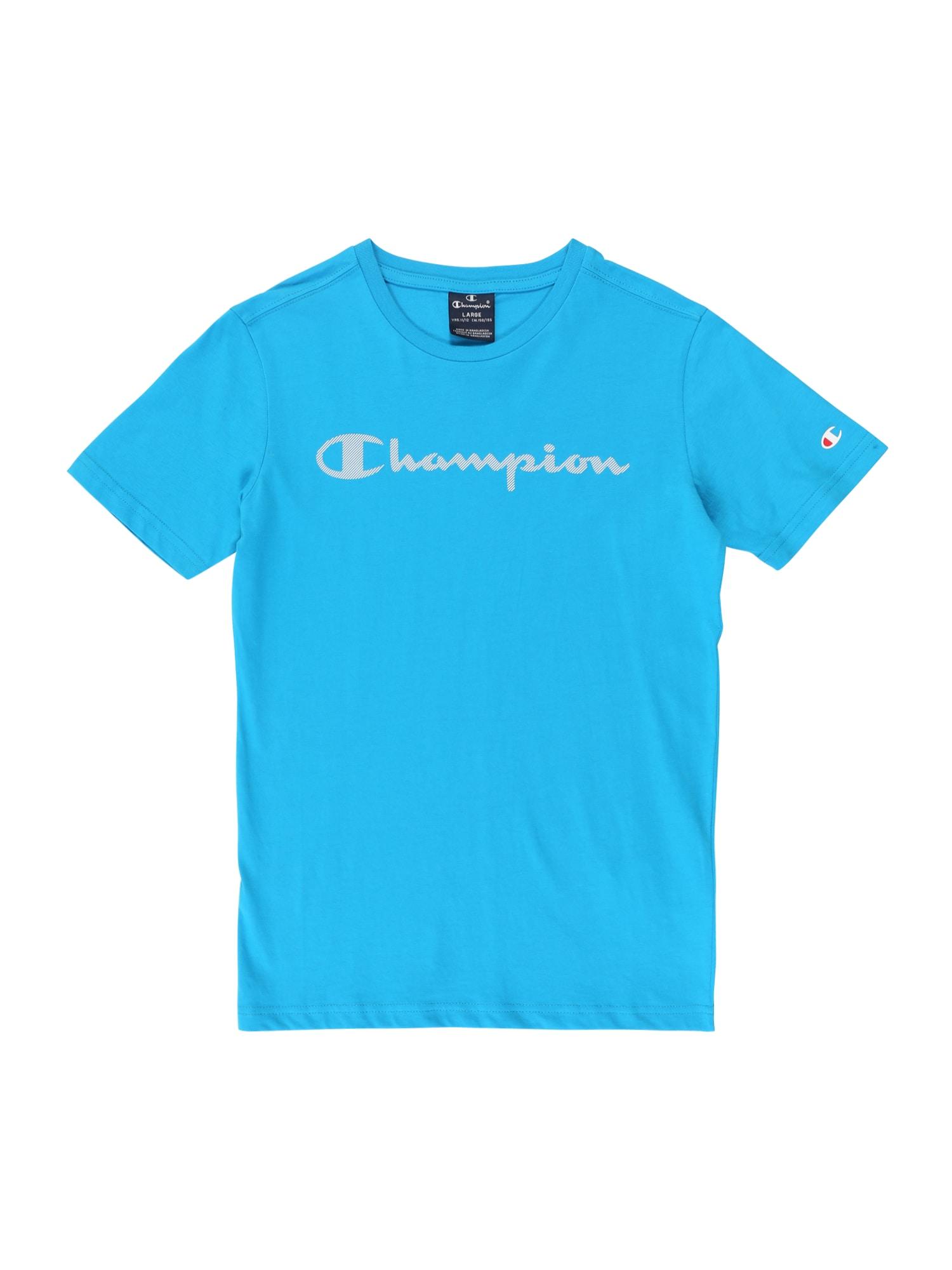 Champion Authentic Athletic Apparel Marškinėliai azuro