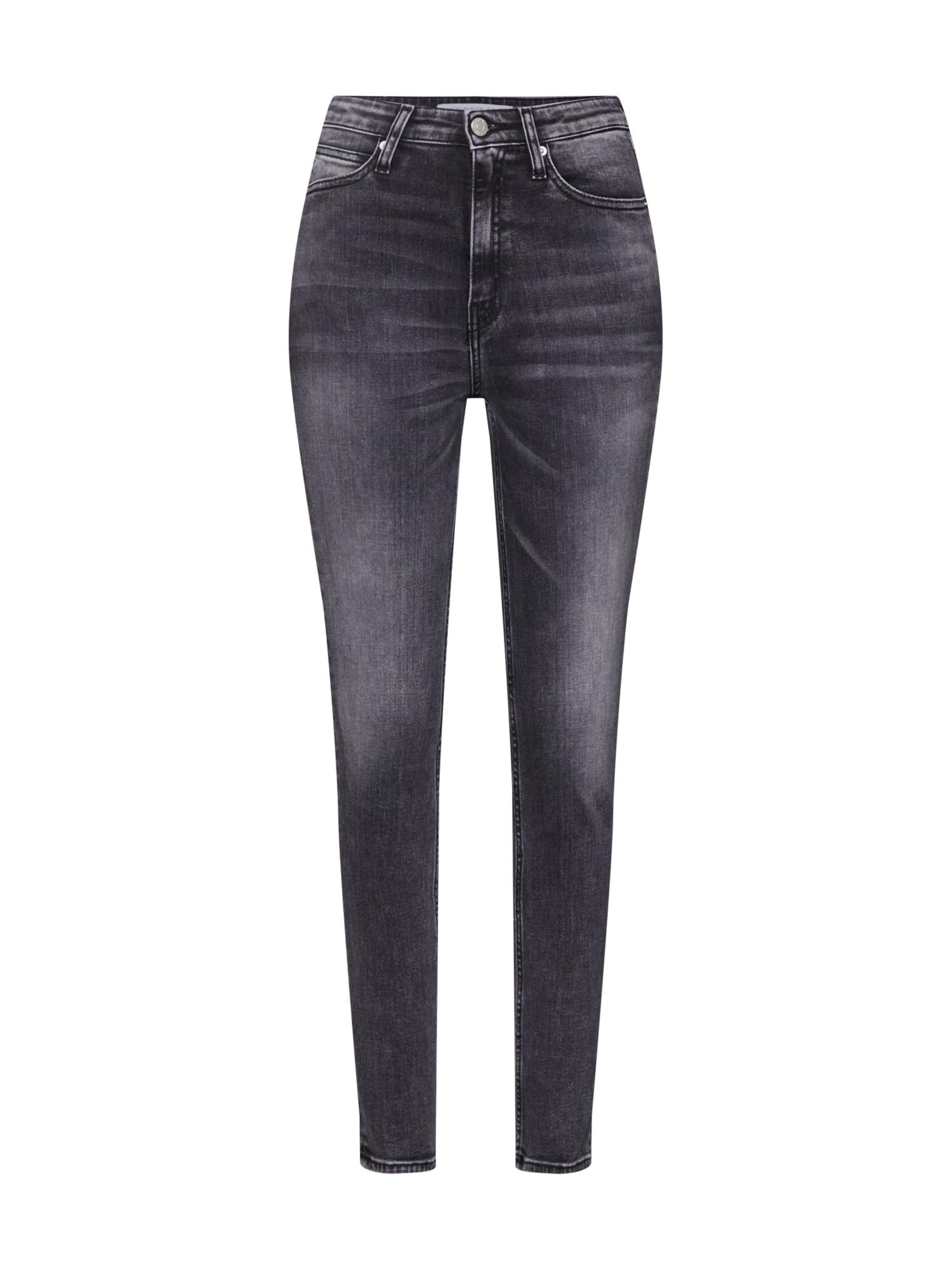 Džíny 010 šedá džínová Calvin Klein Jeans