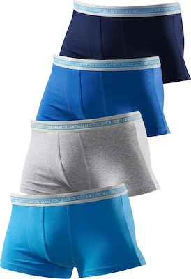 LE JOGGER Boxer, Authentic Underwear (4 Stck.)