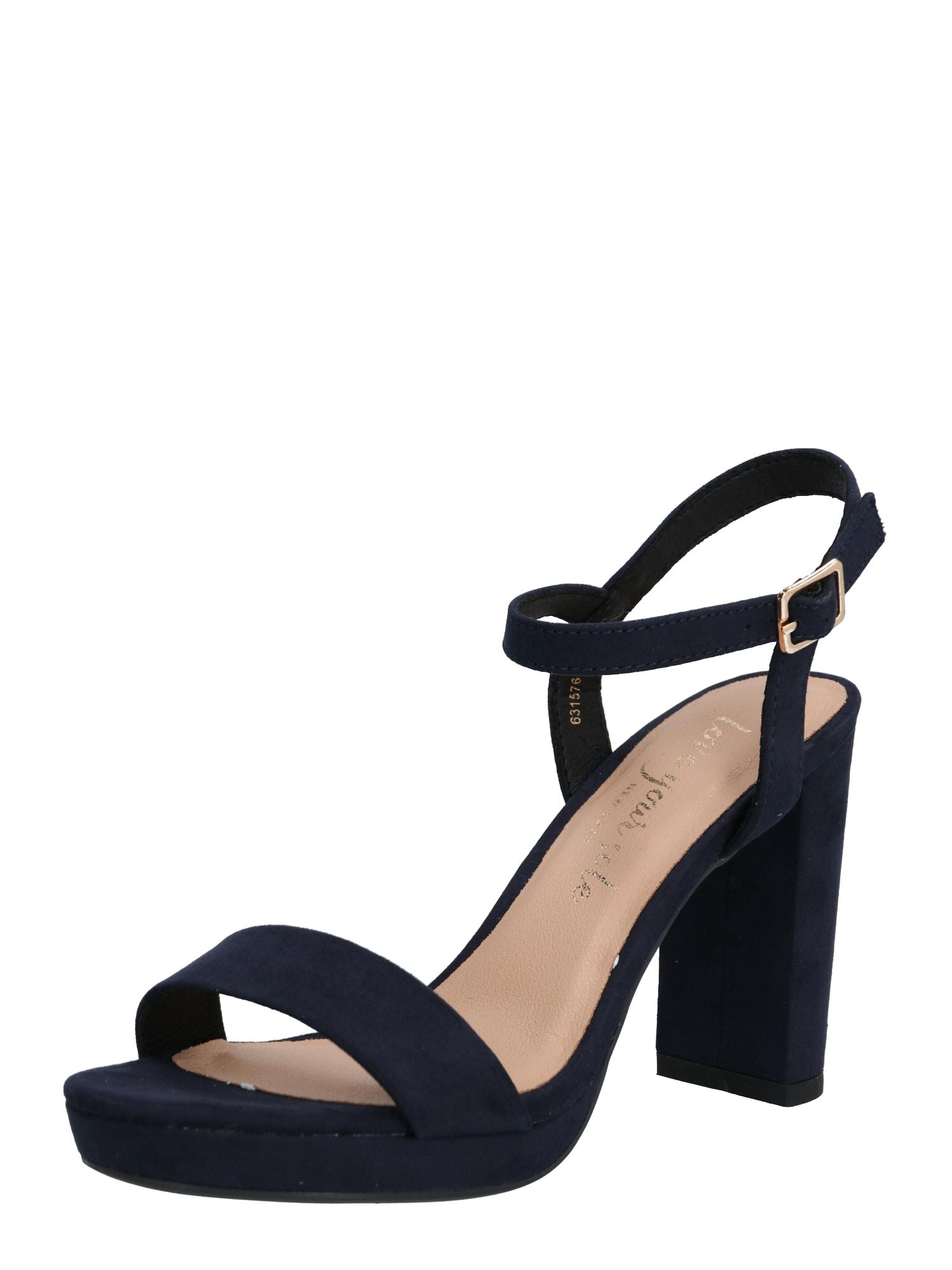 NEW LOOK Sandále 'QUEEN'  modré
