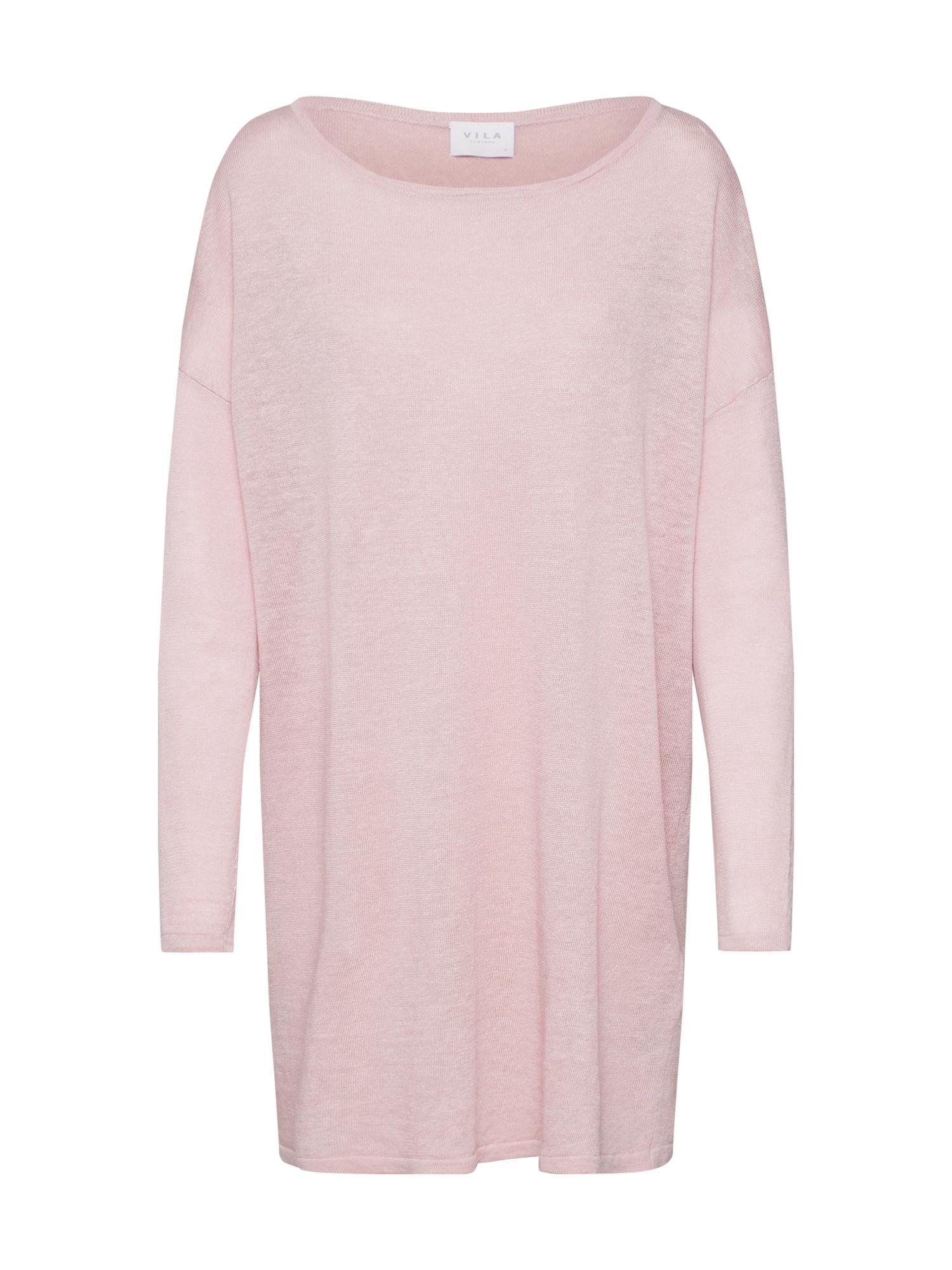 VILA Oversize sveter  ružová