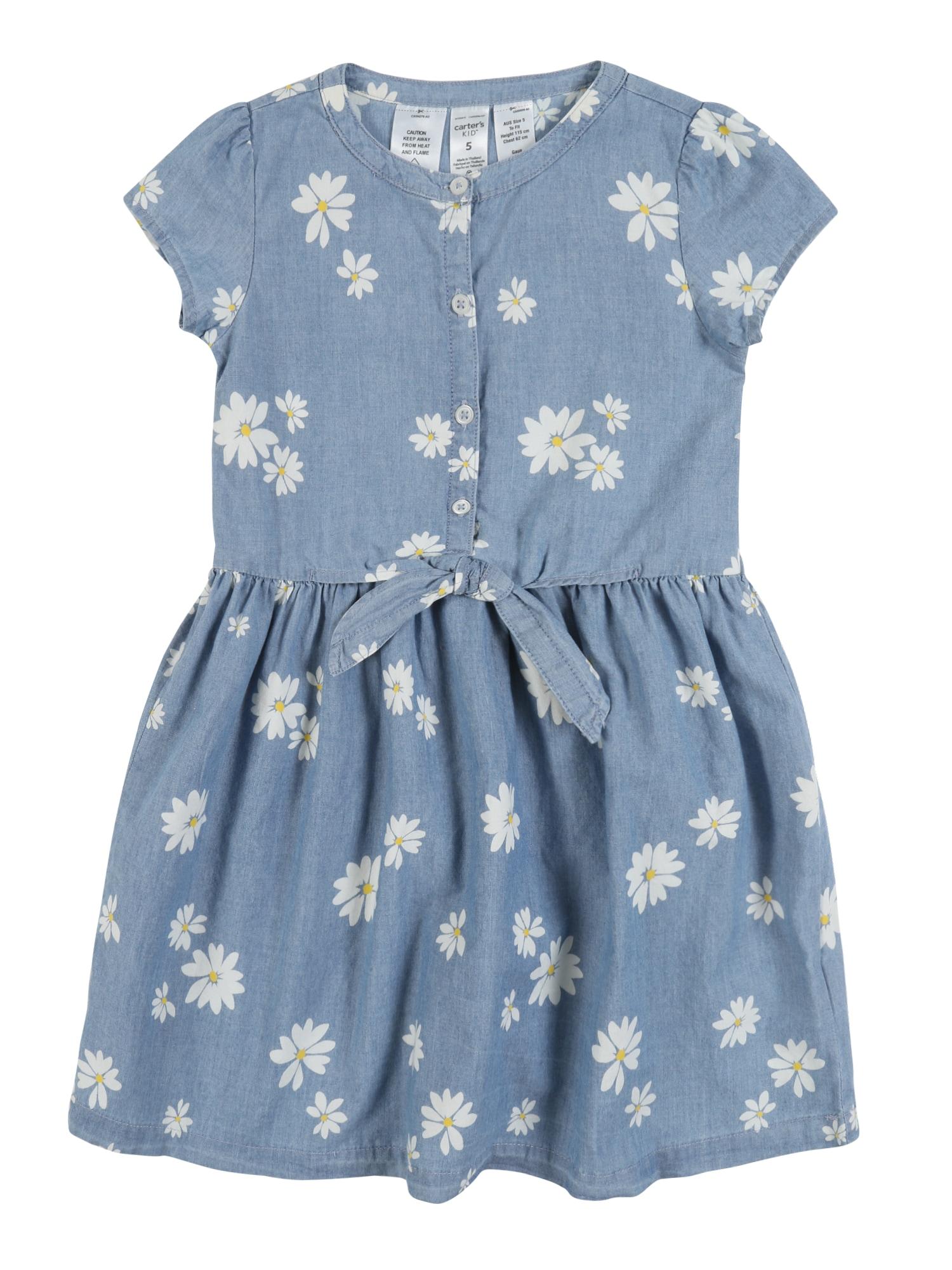 Carter's Suknelė mėlyna / balta
