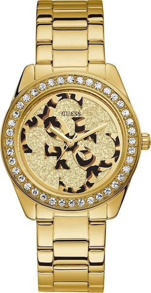 Uhren für Frauen - Quarzuhr 'G Twist, W1201L2' › Guess › goldgelb gold  - Onlineshop ABOUT YOU