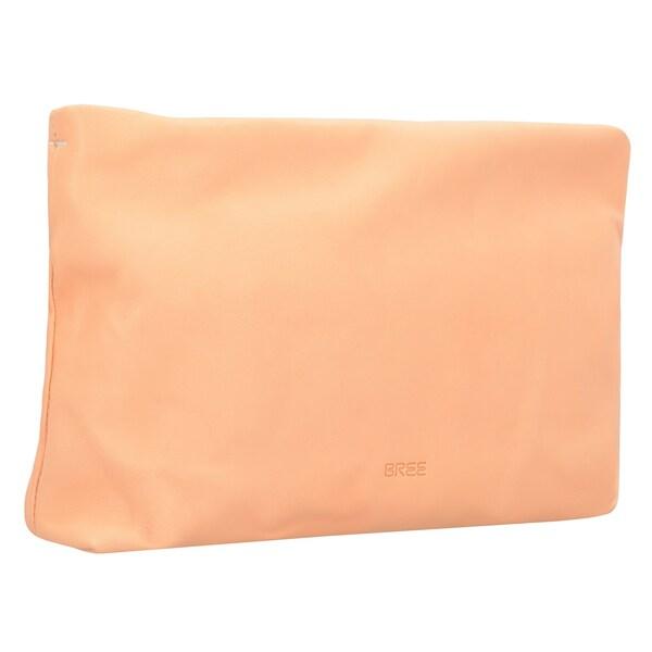 Clutches für Frauen - BREE Stockholm 32 Clutch Tasche Leder 33 cm apricot  - Onlineshop ABOUT YOU