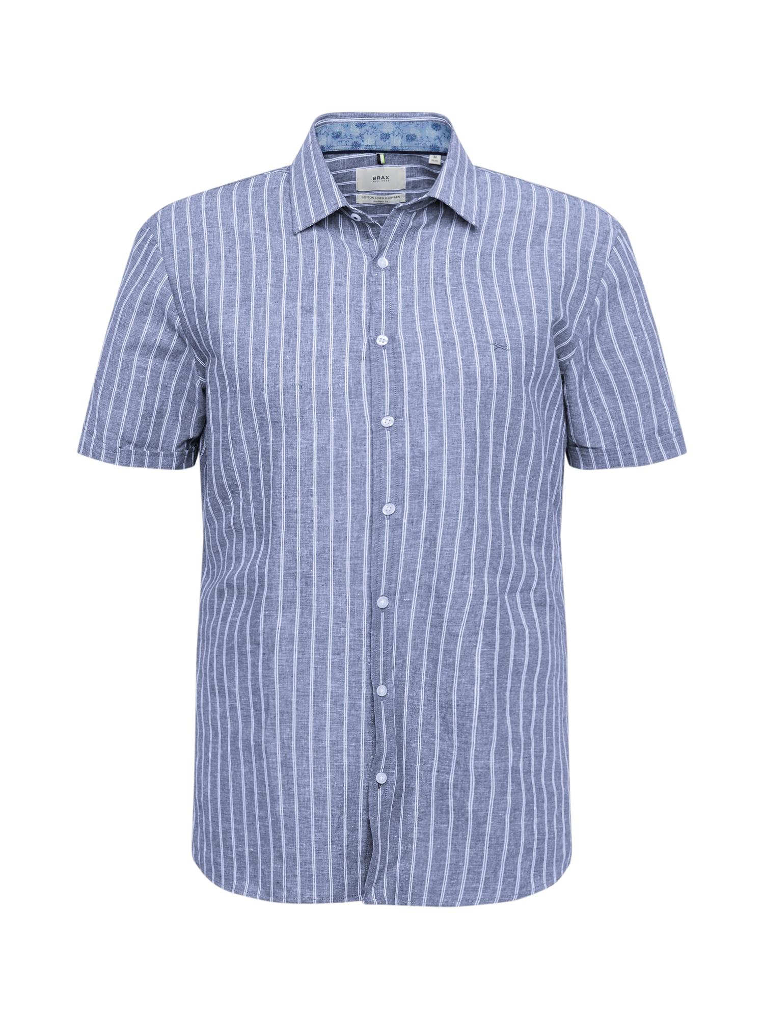 BRAX Dalykiniai marškiniai 'Kris' tamsiai mėlyna