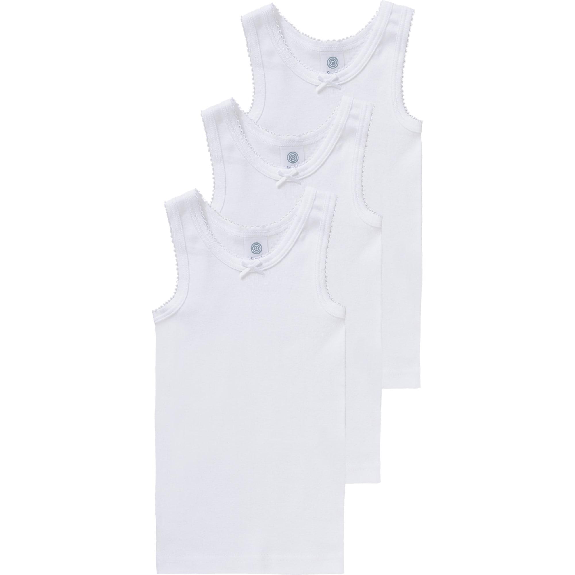 SANETTA Apatiniai marškinėliai balta