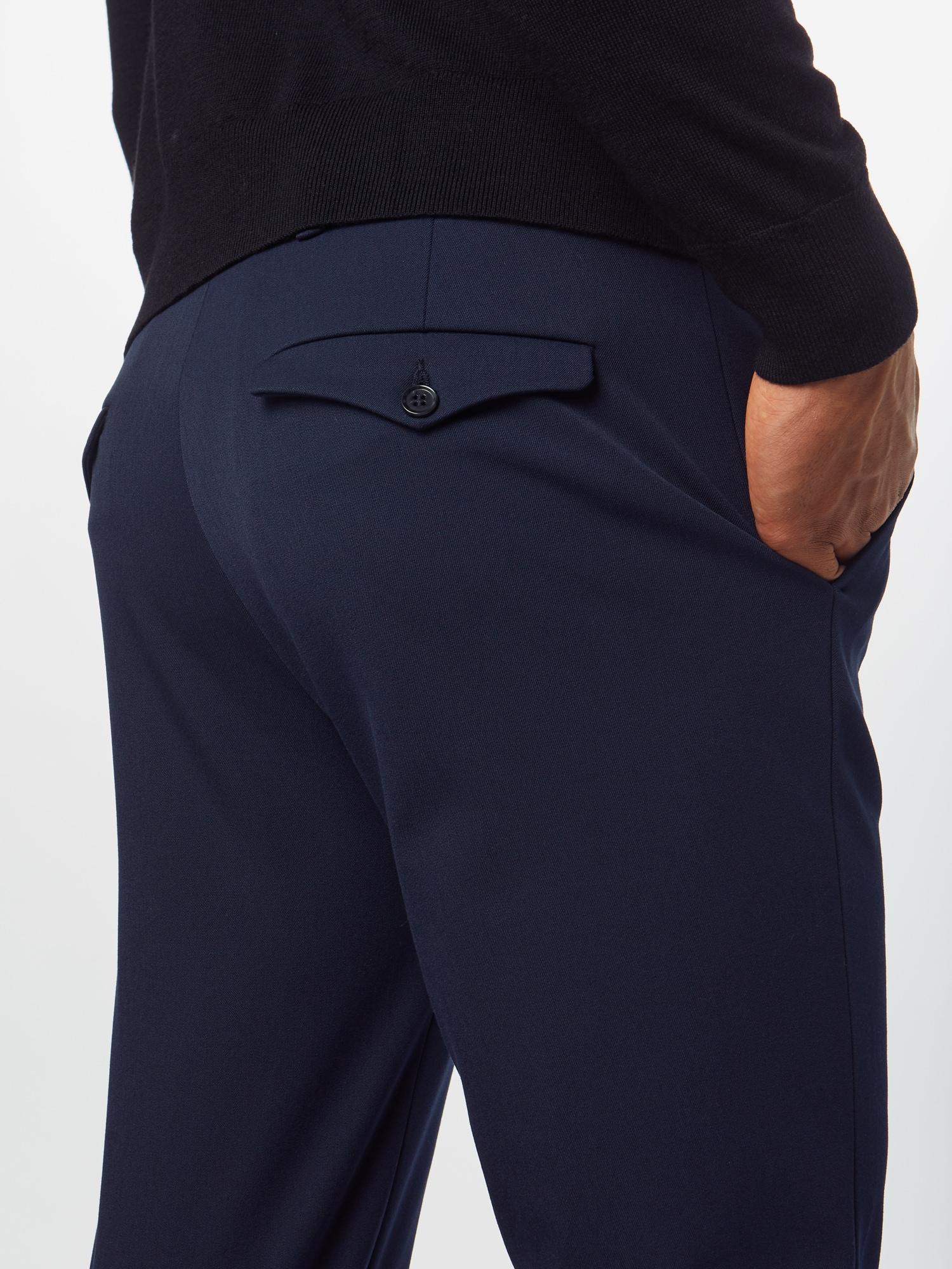 SELECTED HOMME Nohavice  námornícka modrá.