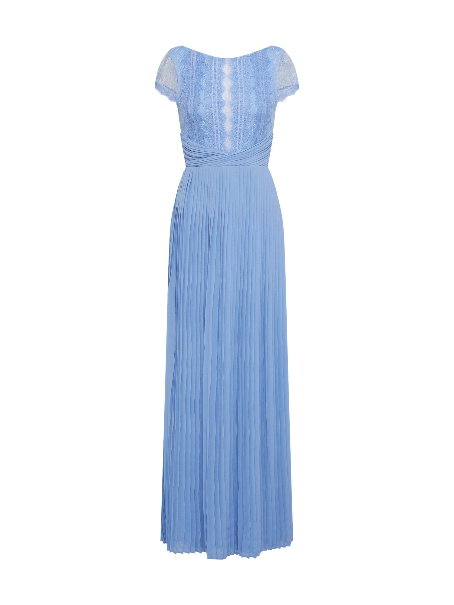 Společenské šaty KIMORA MAXI světlemodrá TFNC