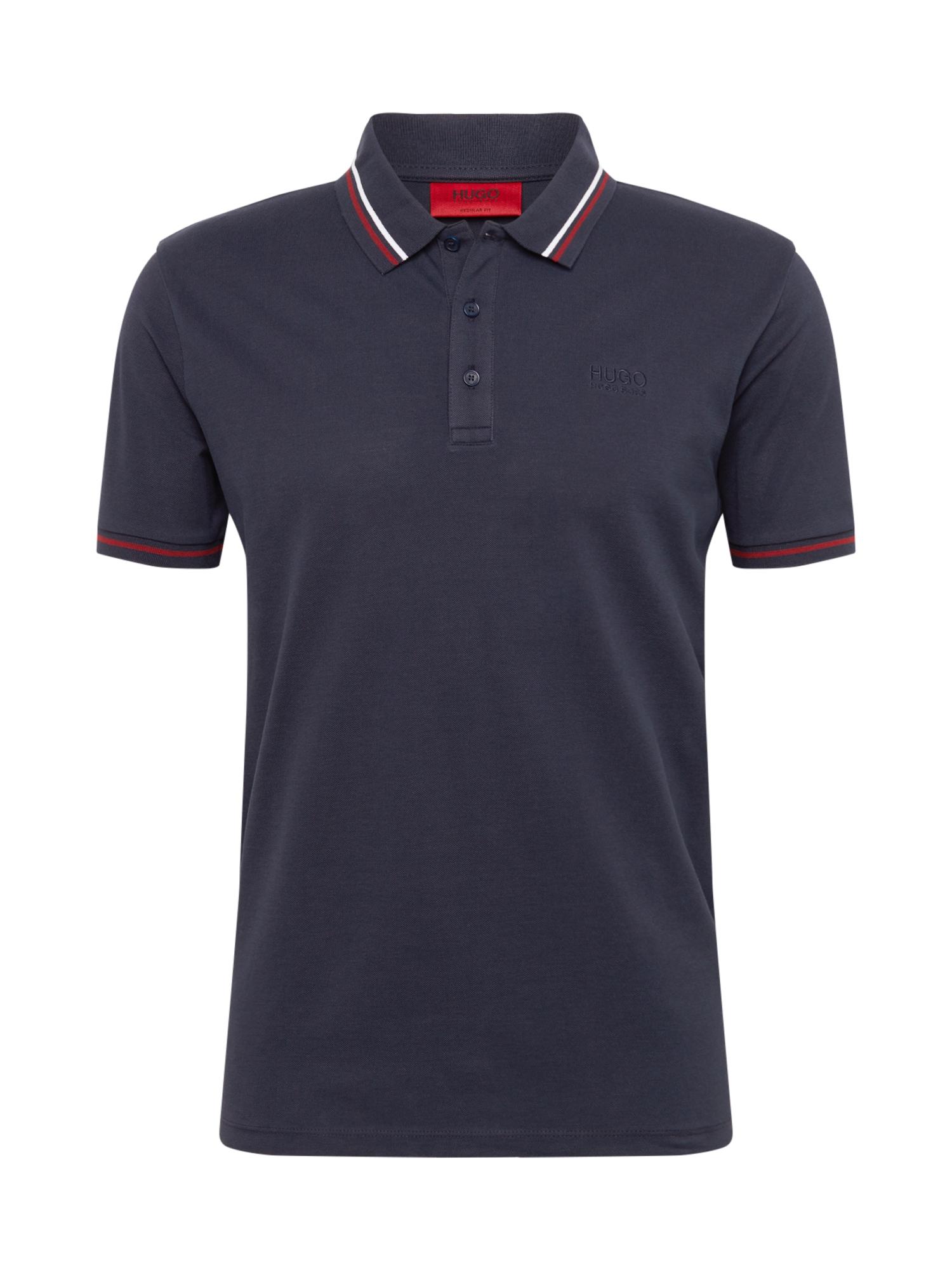 HUGO Tričko 'Daruso-U1'  tmavě modrá