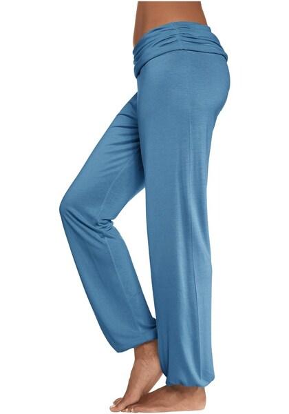 Hosen für Frauen - Haremhose mit gerafftem Umschlagbund › Buffalo › petrol  - Onlineshop ABOUT YOU