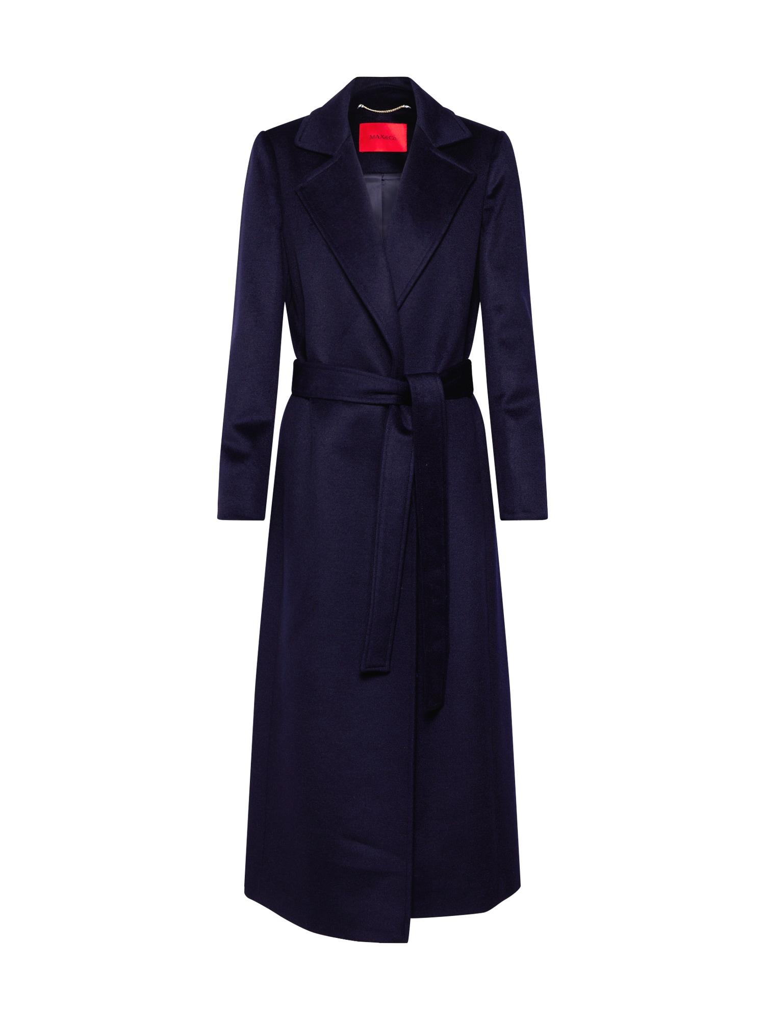 MAX&Co. Rudeninis-žieminis paltas tamsiai mėlyna