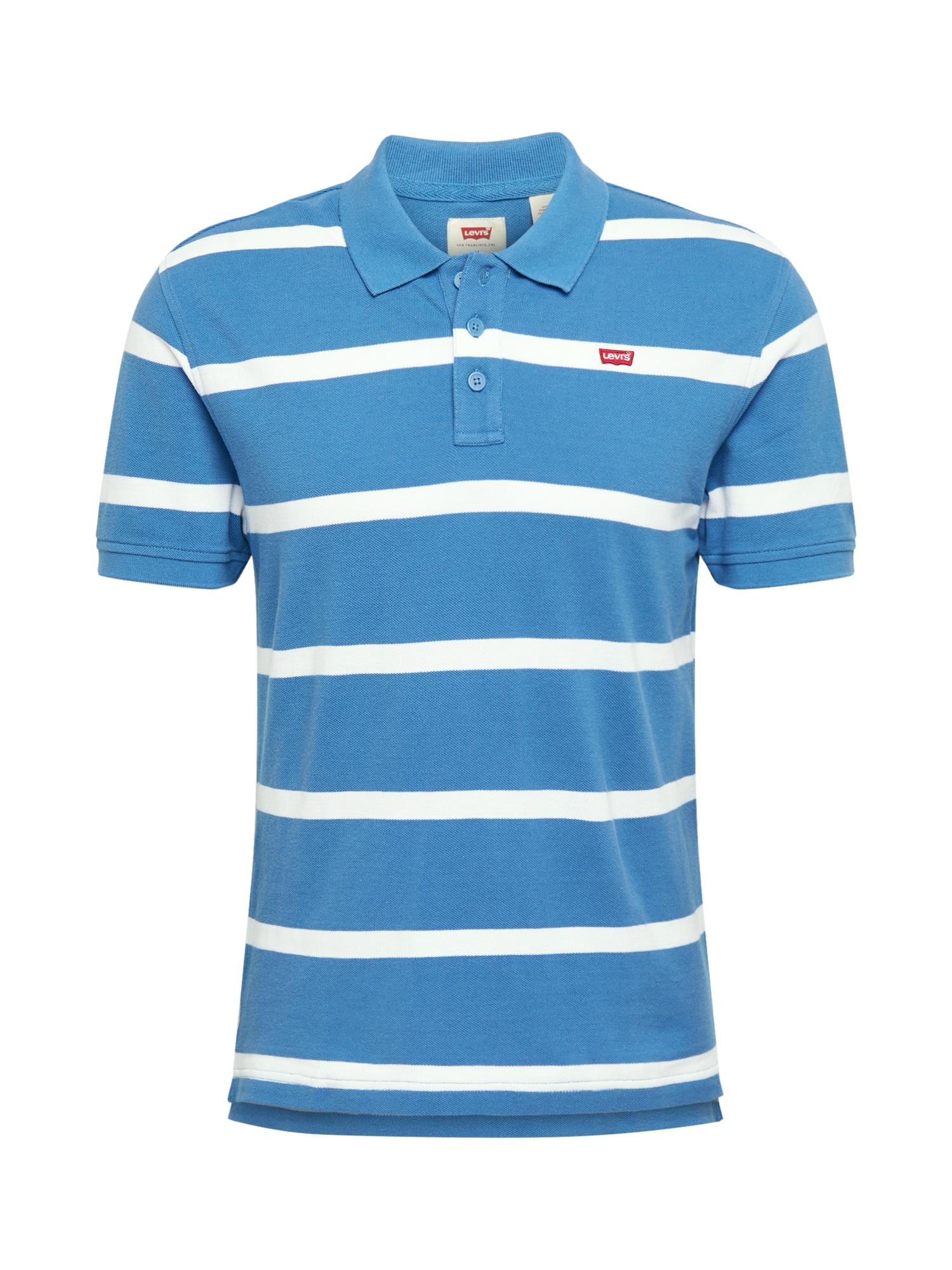 LEVI'S Tričko  biela / nebesky modrá