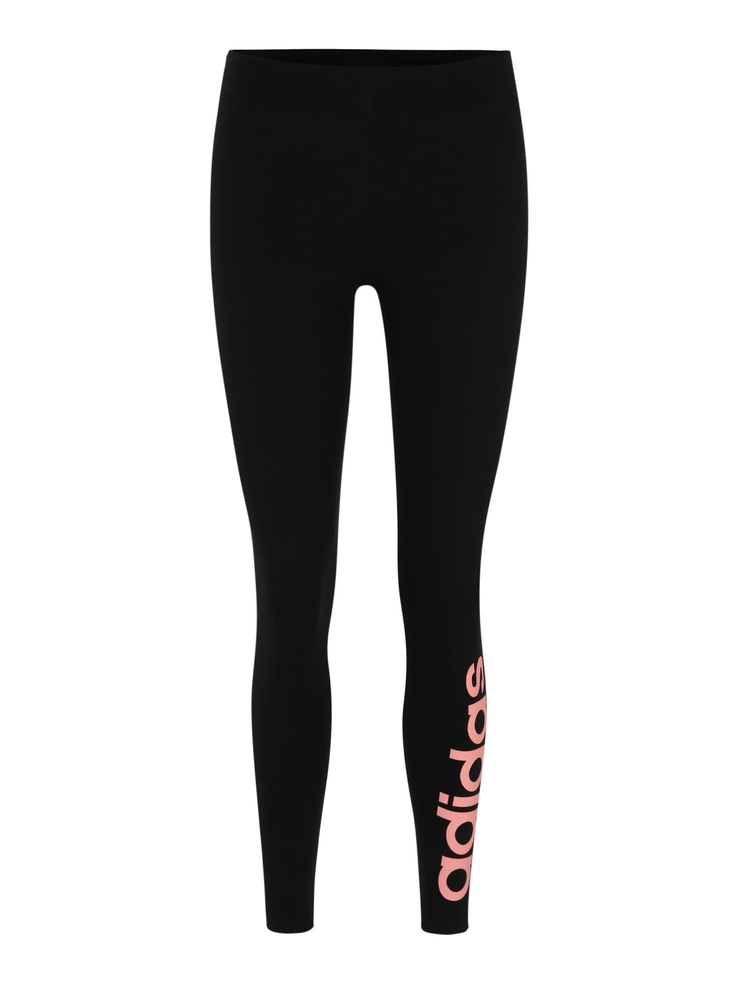 ADIDAS PERFORMANCE Sportinės kelnės rožinė / juoda