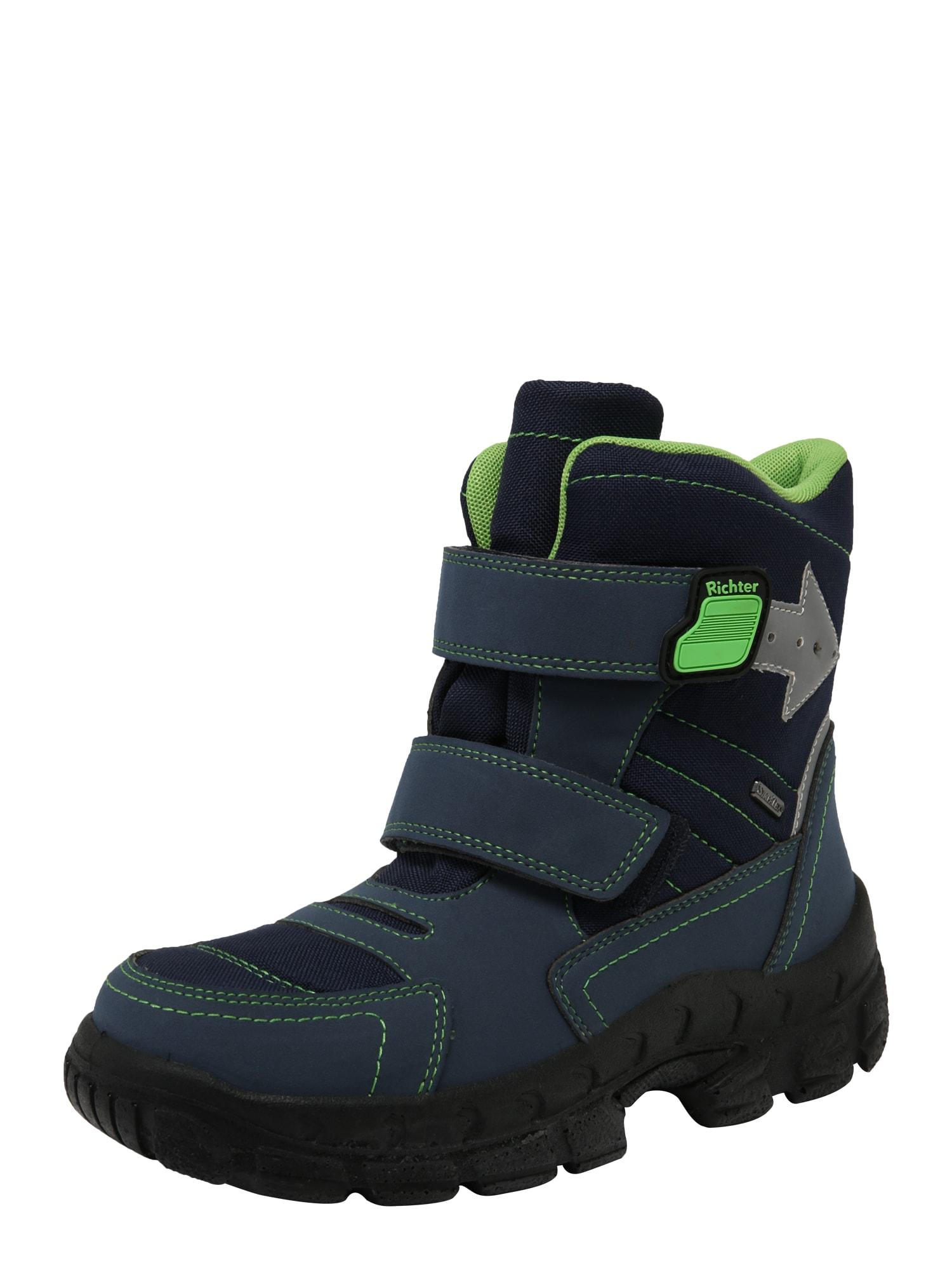 RICHTER Sniego batai mėlyna / žalia
