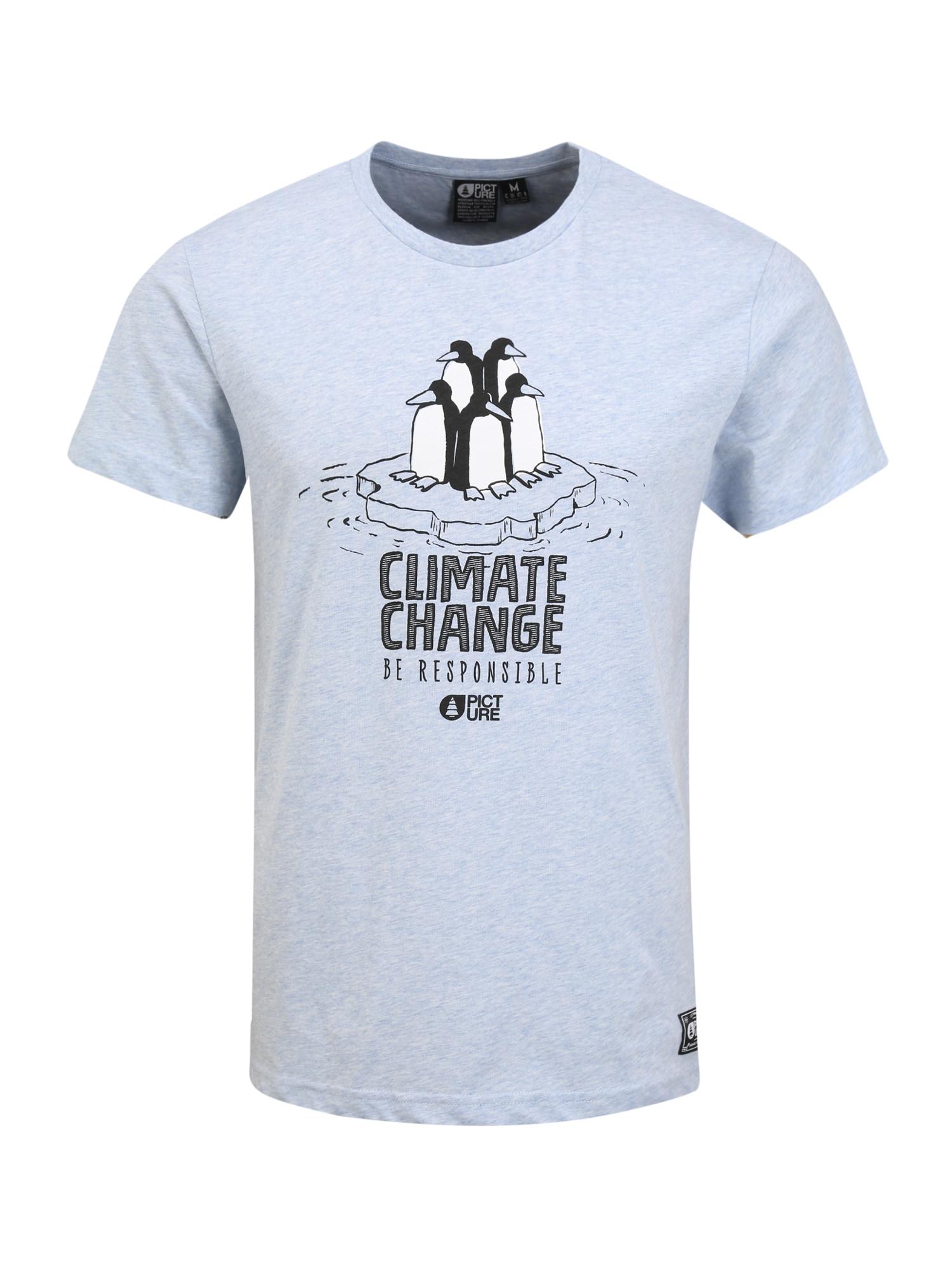 Picture Organic Clothing Sportiniai marškinėliai 'TIMMIAQ' šviesiai mėlyna