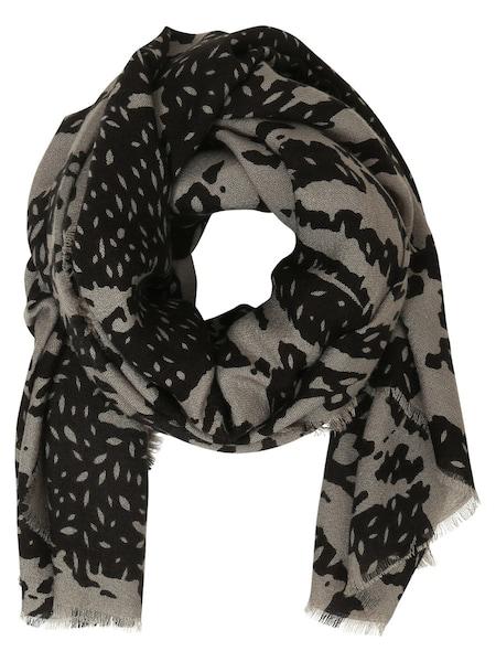 Schals für Frauen - OBJECT Print Schal grau  - Onlineshop ABOUT YOU