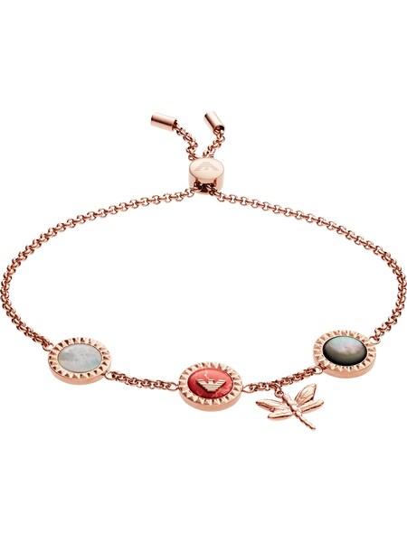 Armbaender für Frauen - Emporio Armani Armband 'EGS2566221' rosegold hellgrau  - Onlineshop ABOUT YOU