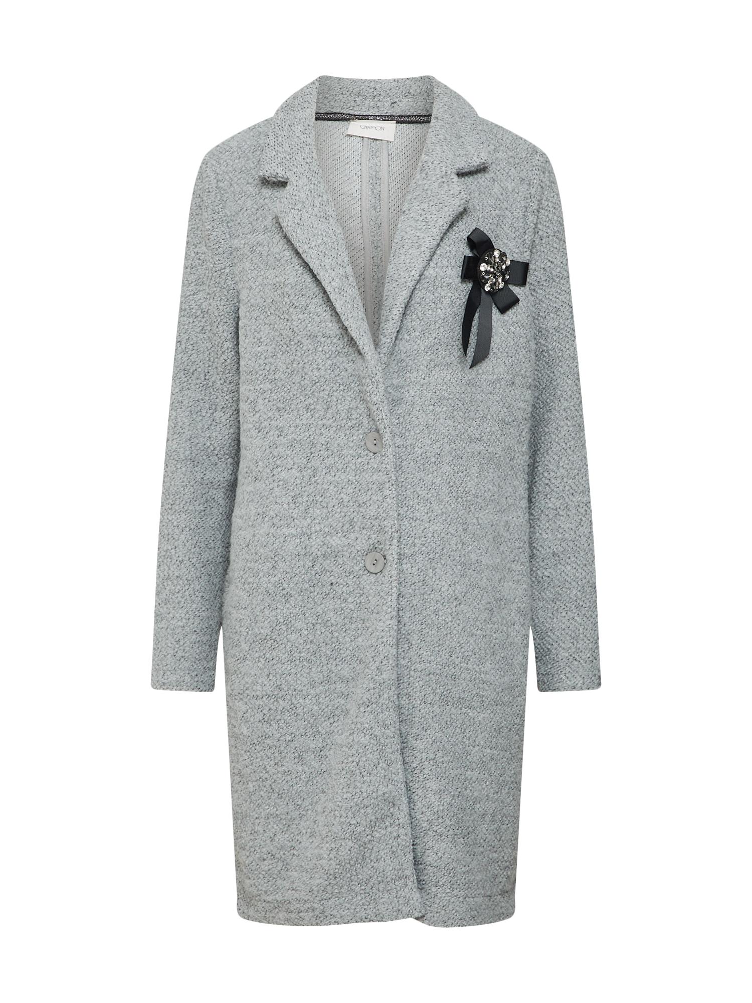 Cartoon Žieminis paltas pilka
