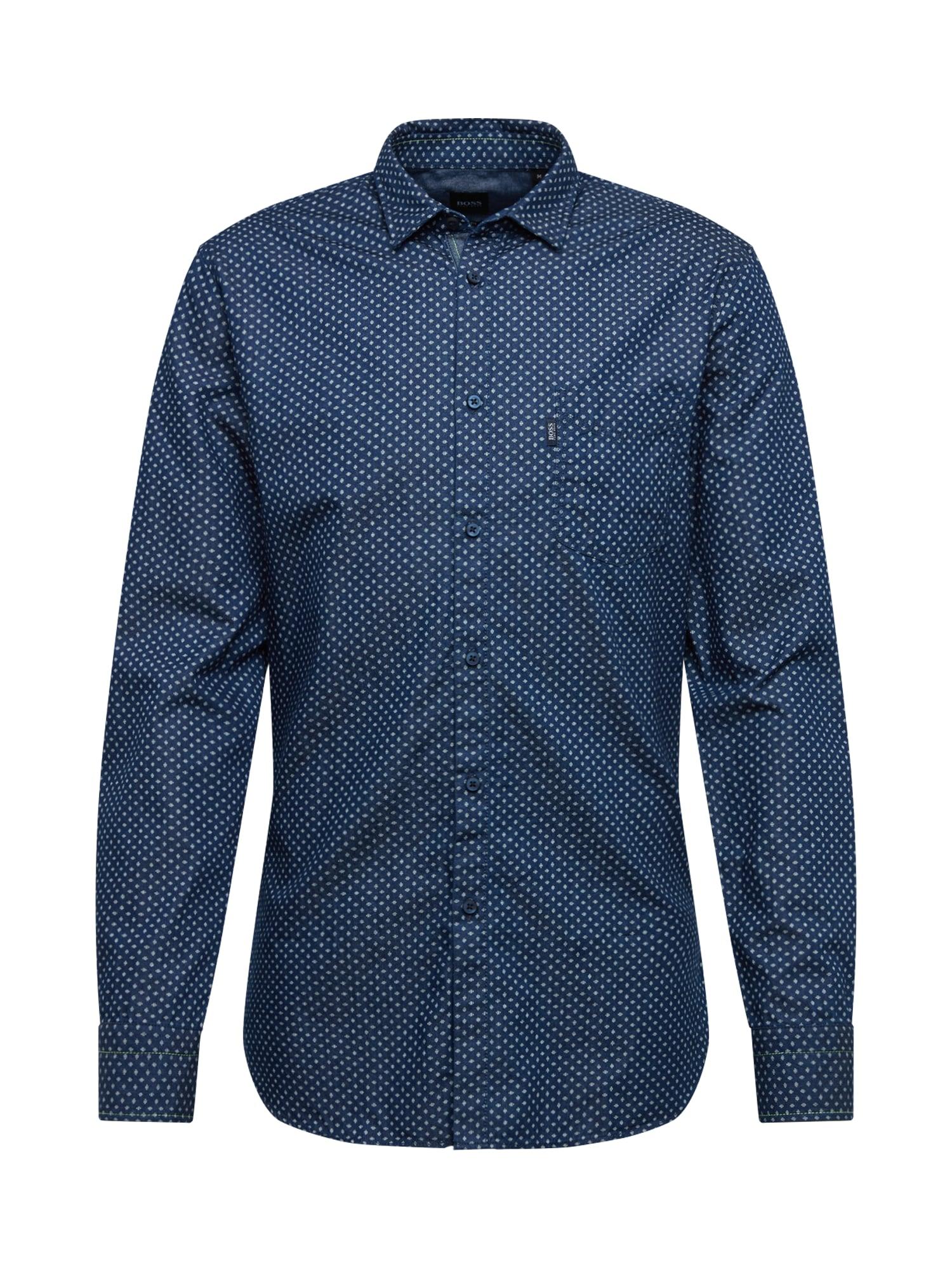 BOSS Dalykiniai marškiniai 'Magneton_1' mėlyna