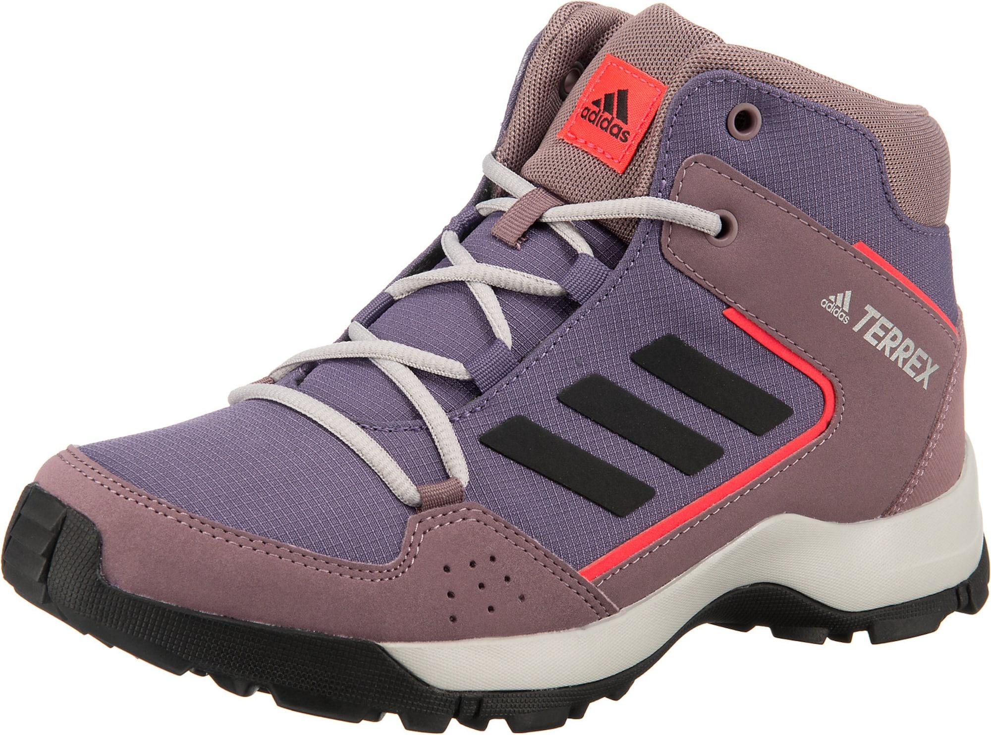 ADIDAS PERFORMANCE Auliniai batai tamsiai violetinė / neoninė rožinė / pastelinė violetinė