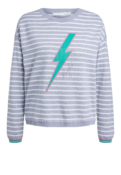 Oberteile - Pullover › Oui › grau  - Onlineshop ABOUT YOU