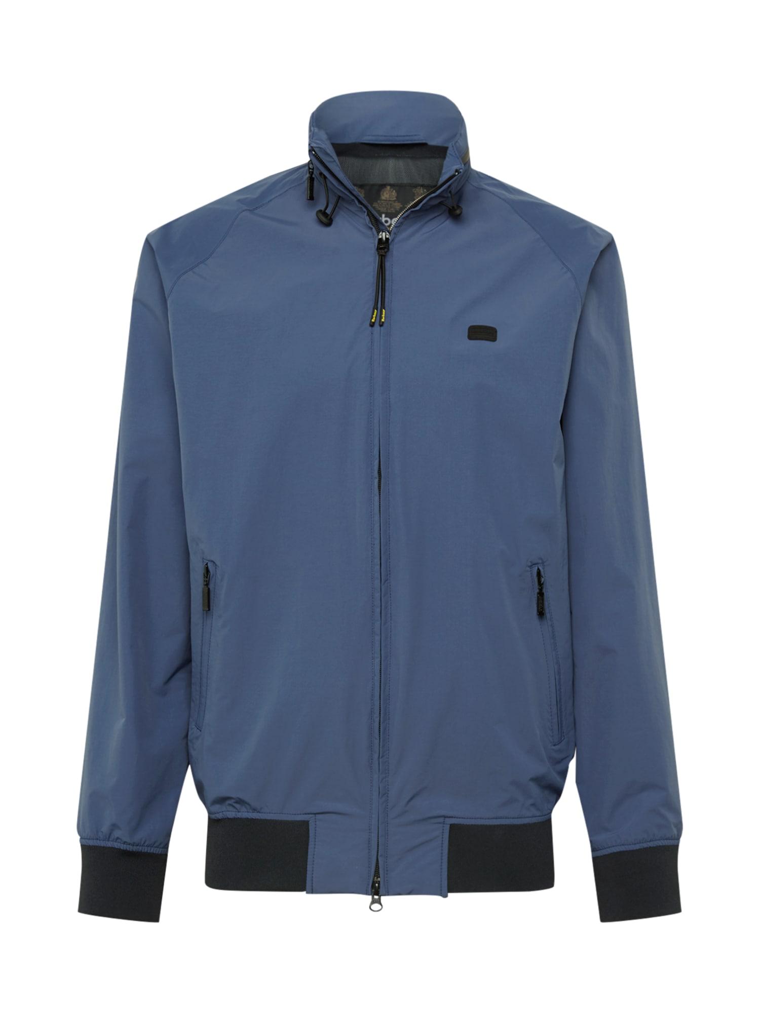 Barbour International Prechodná bunda  s modrými škvrnami