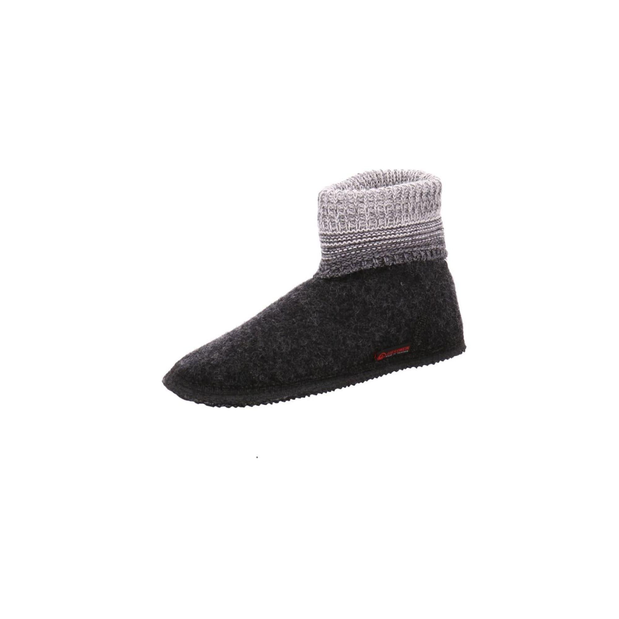 GIESSWEIN Pantofle  šedá / černá