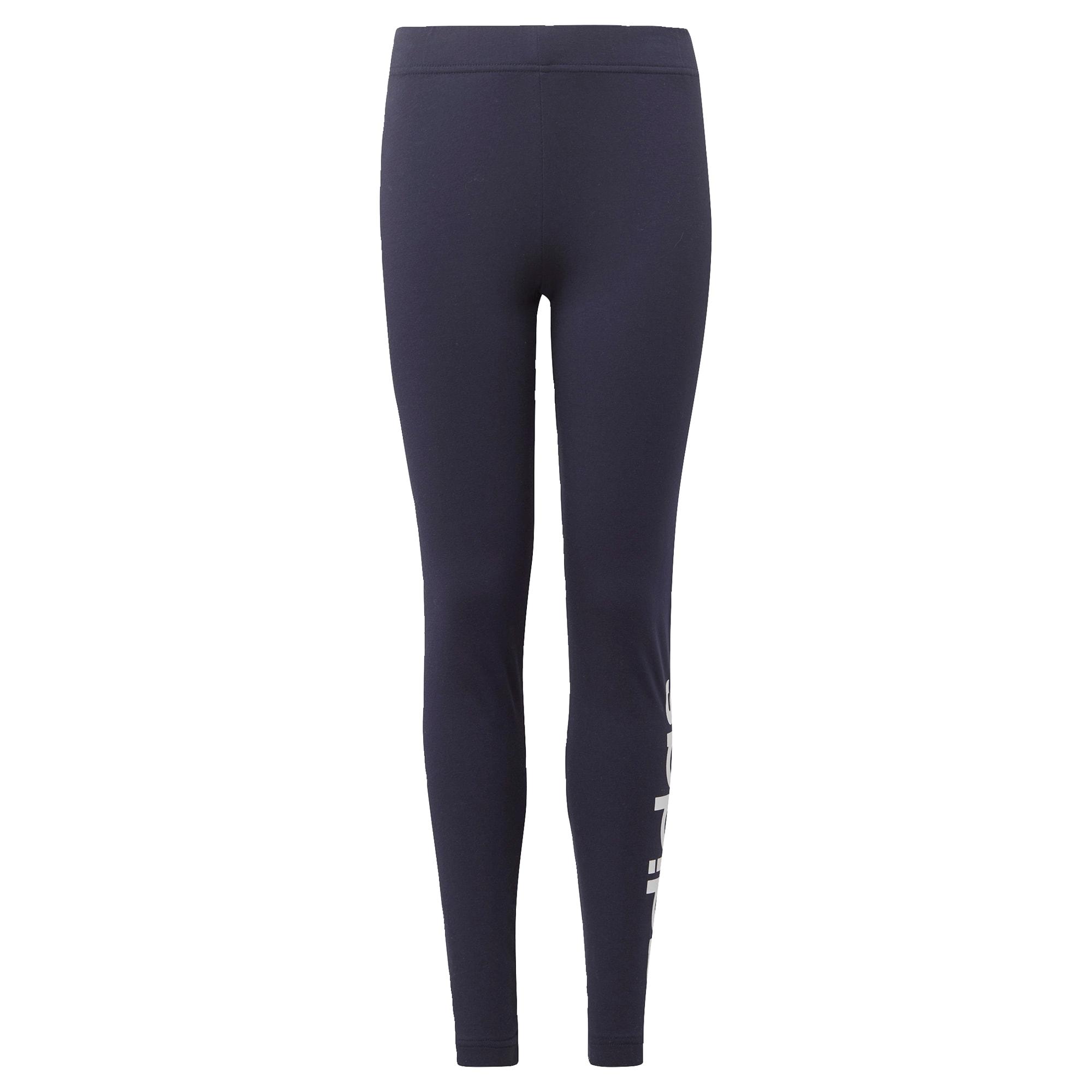 ADIDAS PERFORMANCE Sportinės kelnės balta / tamsiai mėlyna