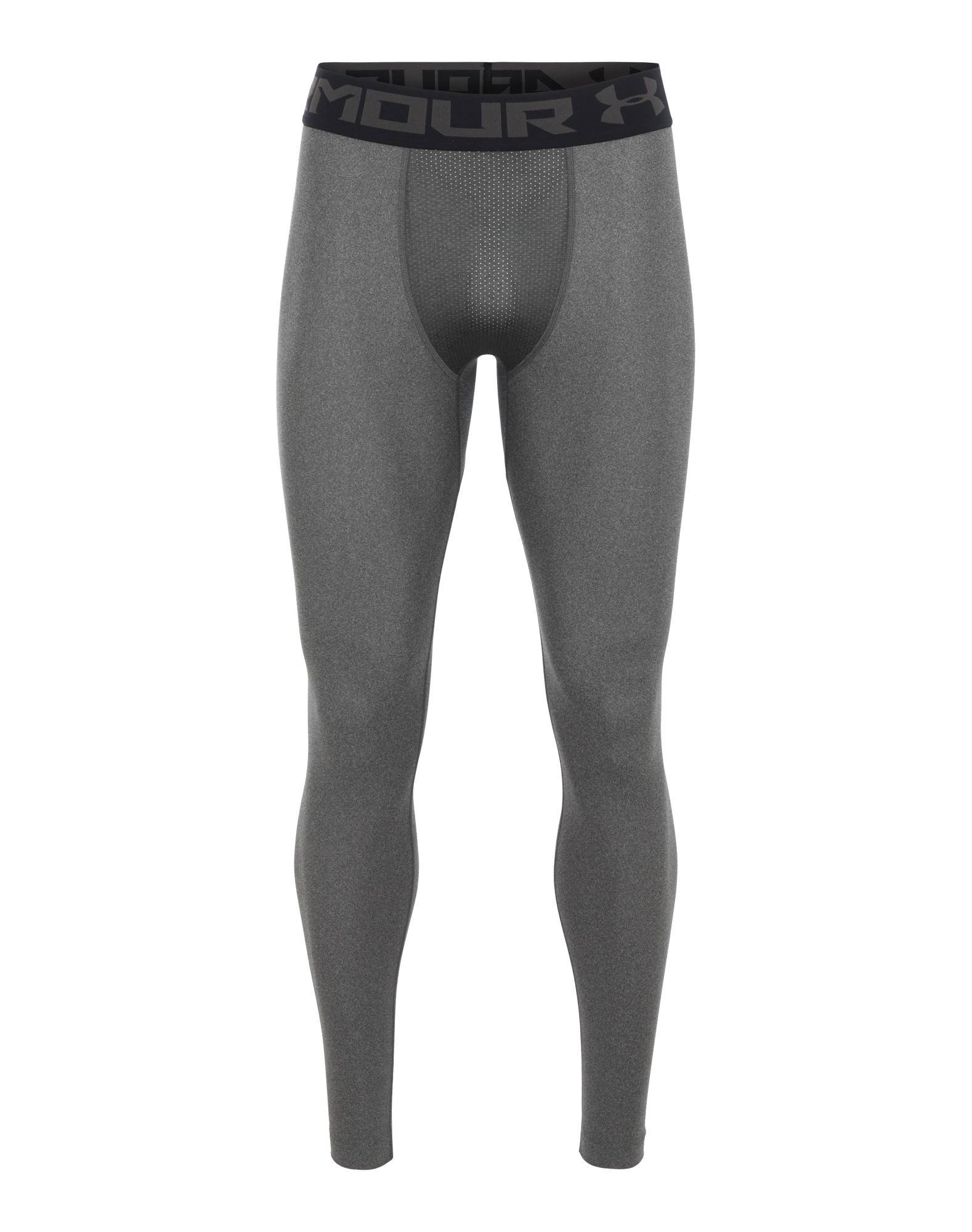 UNDER ARMOUR Sportinės kelnės juoda / tamsiai pilka