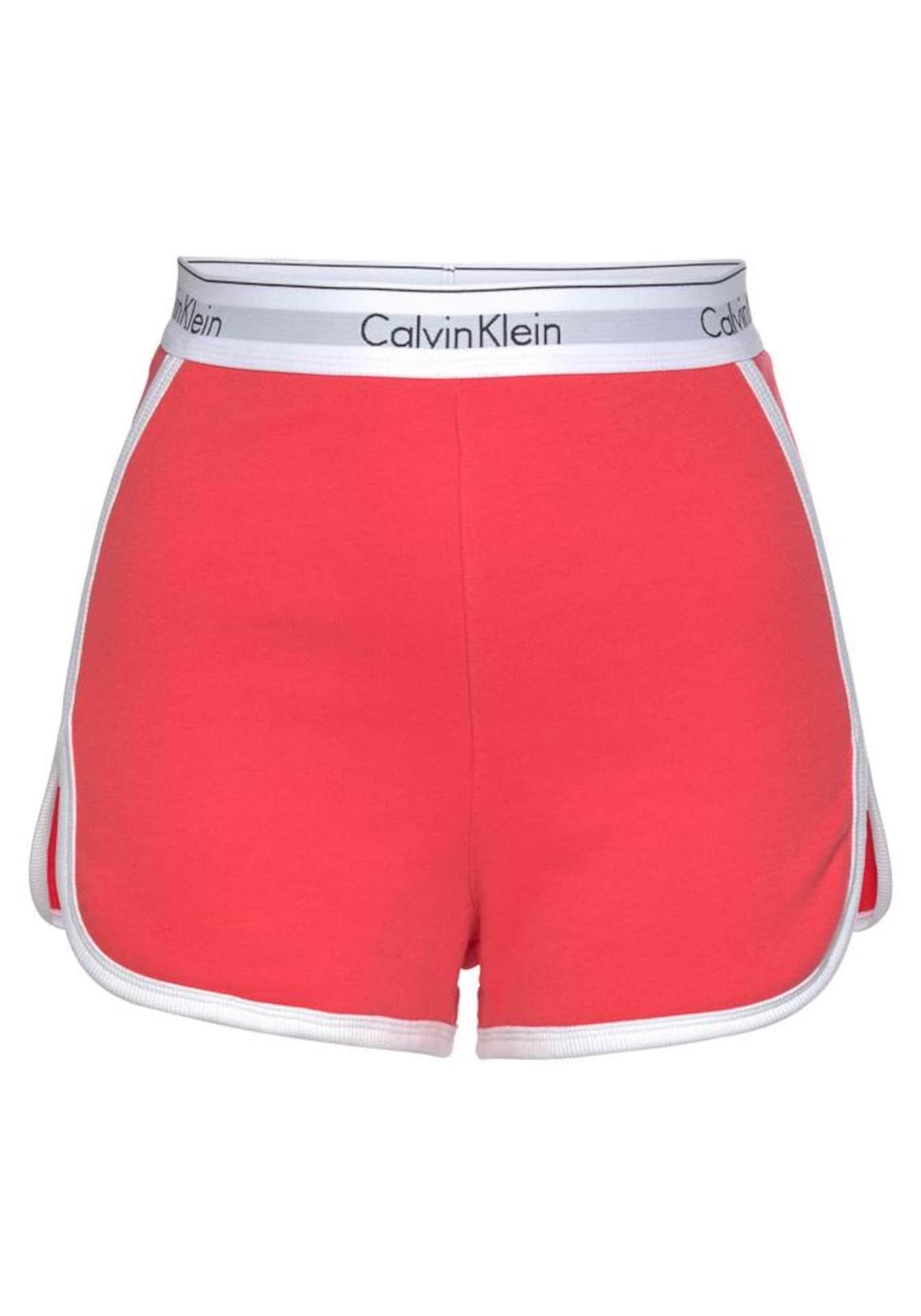 Pyžamo grenadina bílá Calvin Klein Underwear